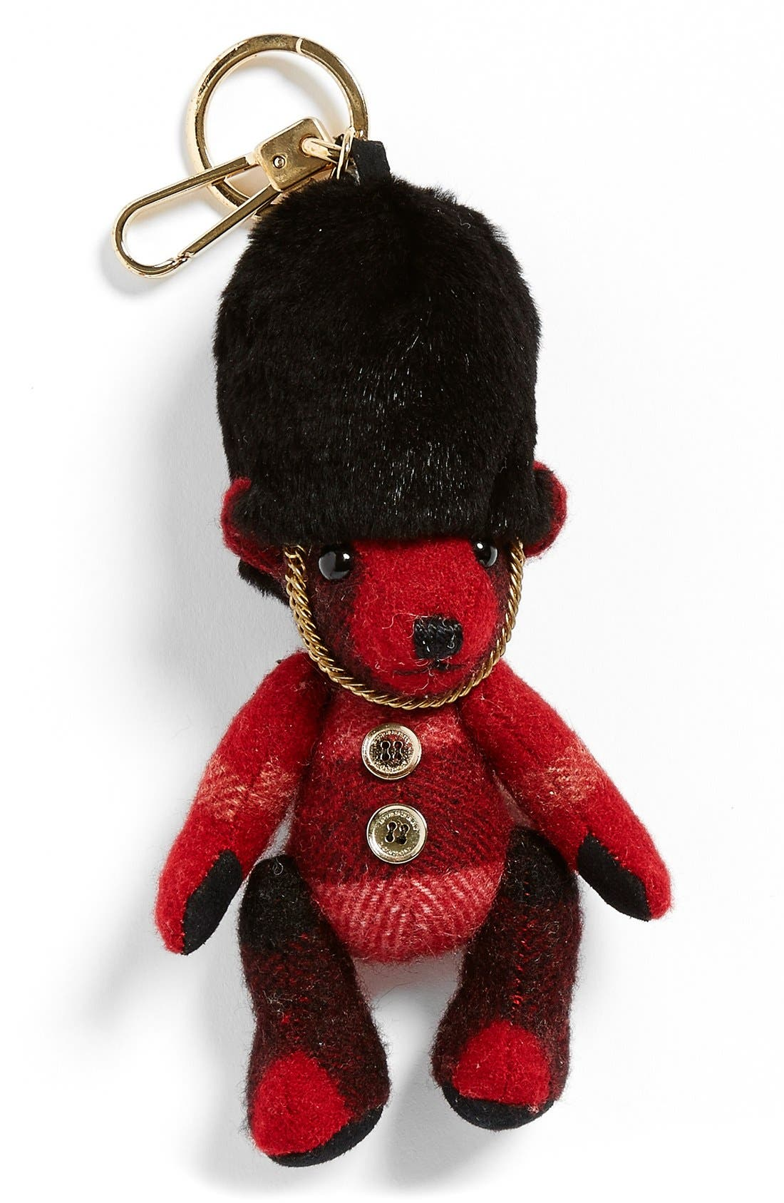 'Thomas Bear' Bag Charm,                             Main thumbnail 1, color,                             600