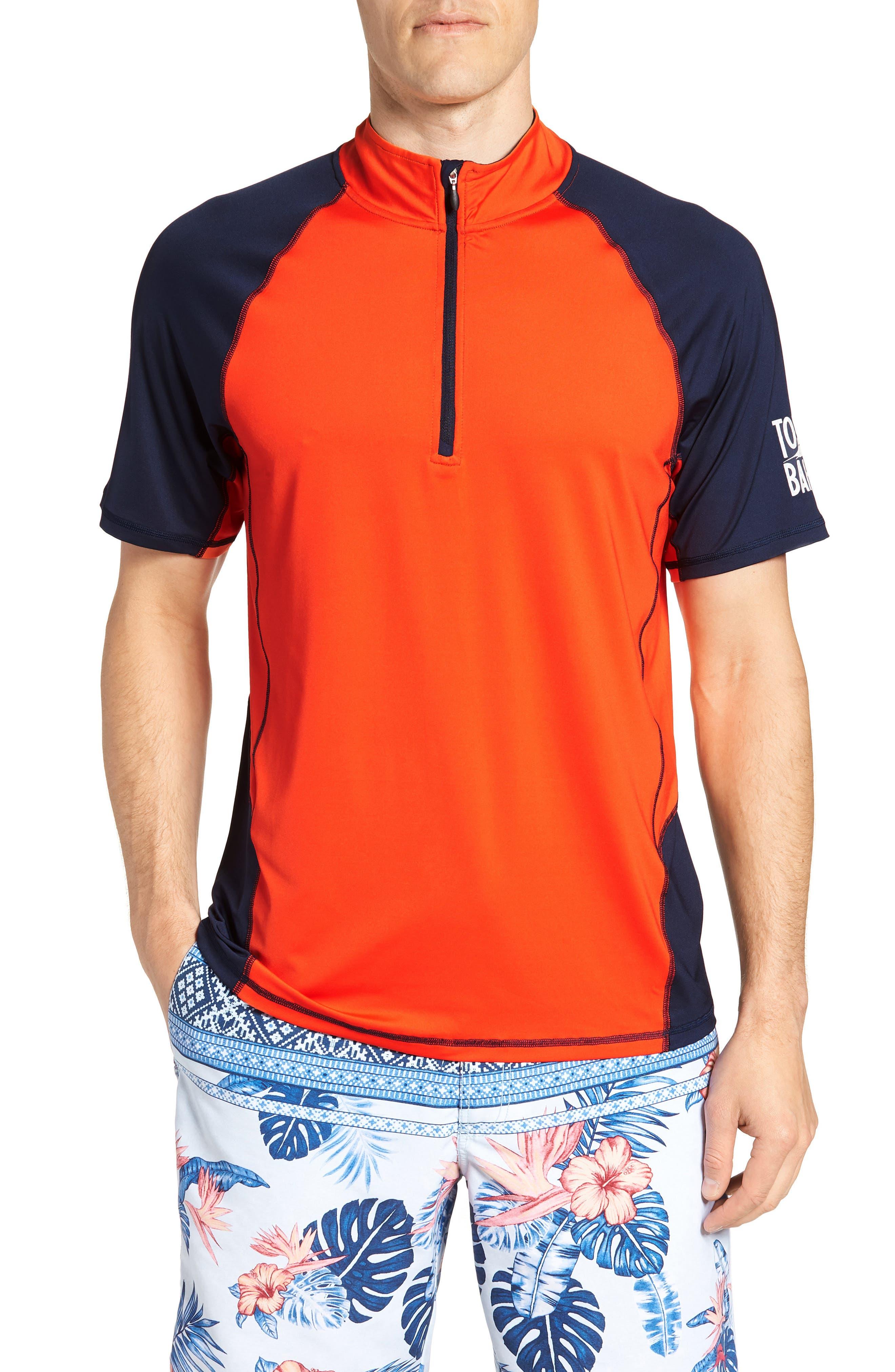 IslandActive<sup>™</sup> Colorblock Beach Pro Rashguard T-Shirt,                             Main thumbnail 2, color,