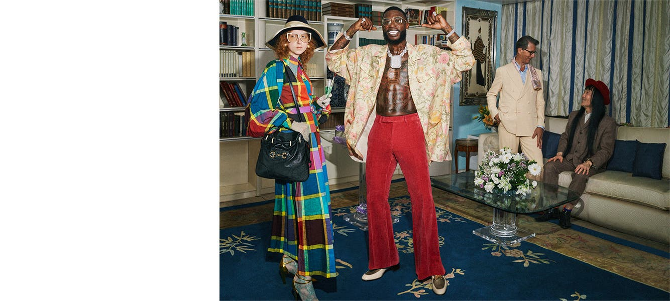 It's Gucci: Cruise 2020 Collection.