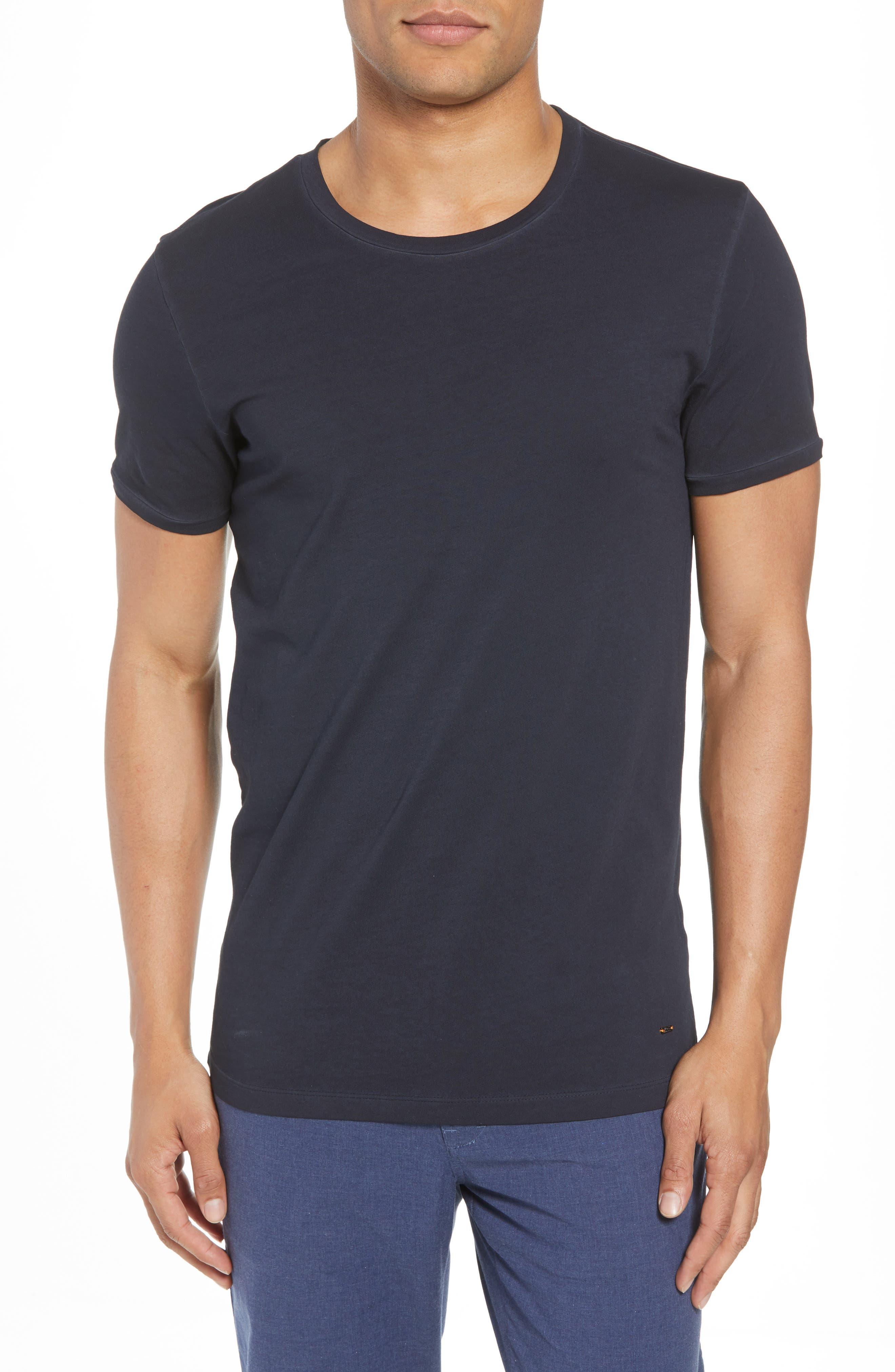 Troy Crewneck T-Shirt,                             Main thumbnail 2, color,