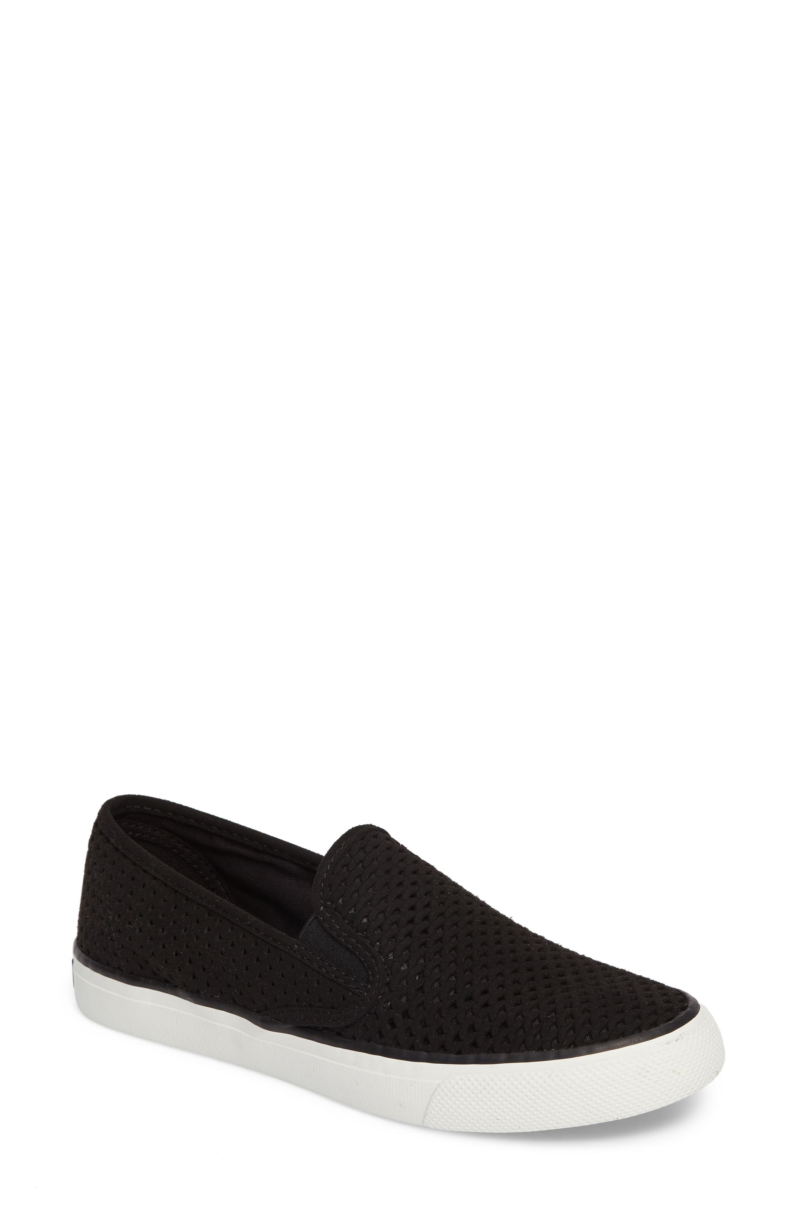 'Seaside' Perforated Slip-On Sneaker,                             Main thumbnail 3, color,