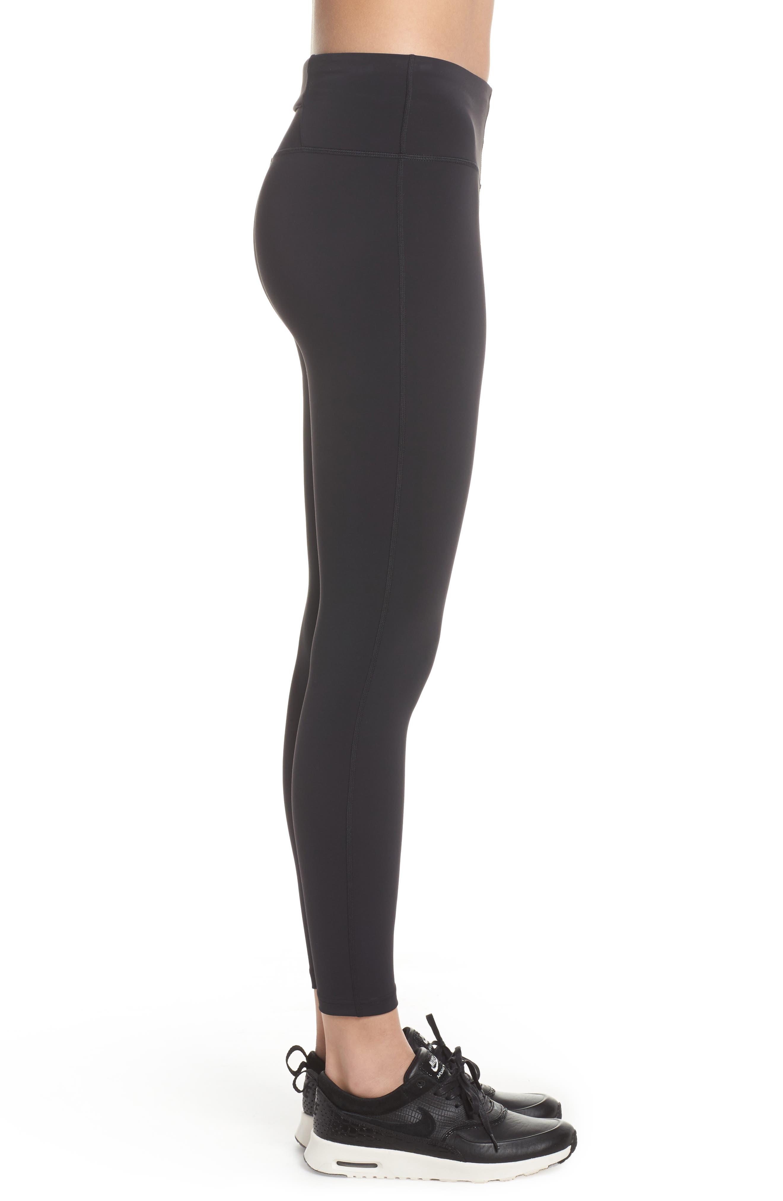 NikeLab Women's Tights,                             Alternate thumbnail 3, color,                             BLACK/ BLACK