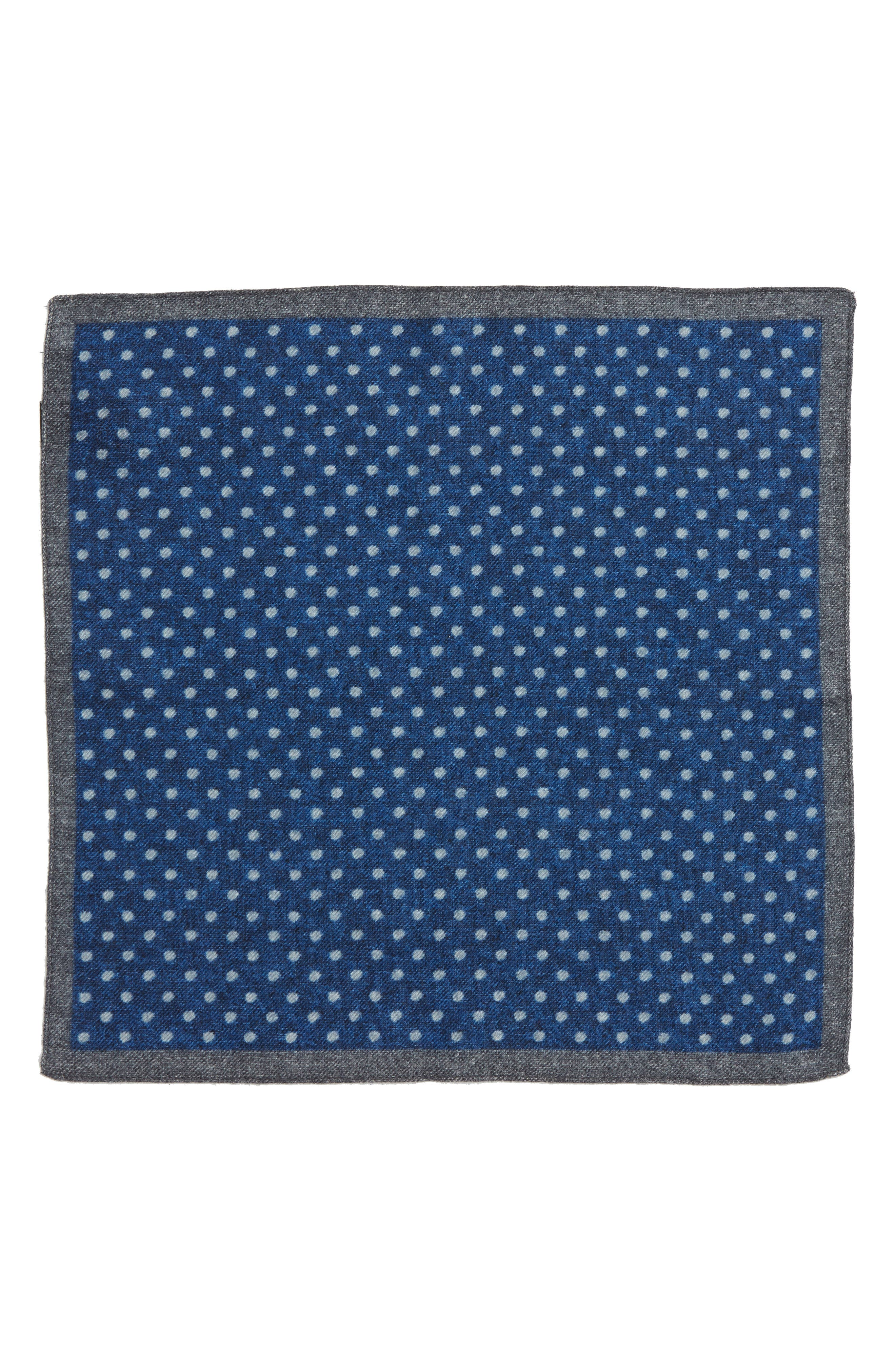 Dot Wool Pocket Square,                             Alternate thumbnail 2, color,                             489