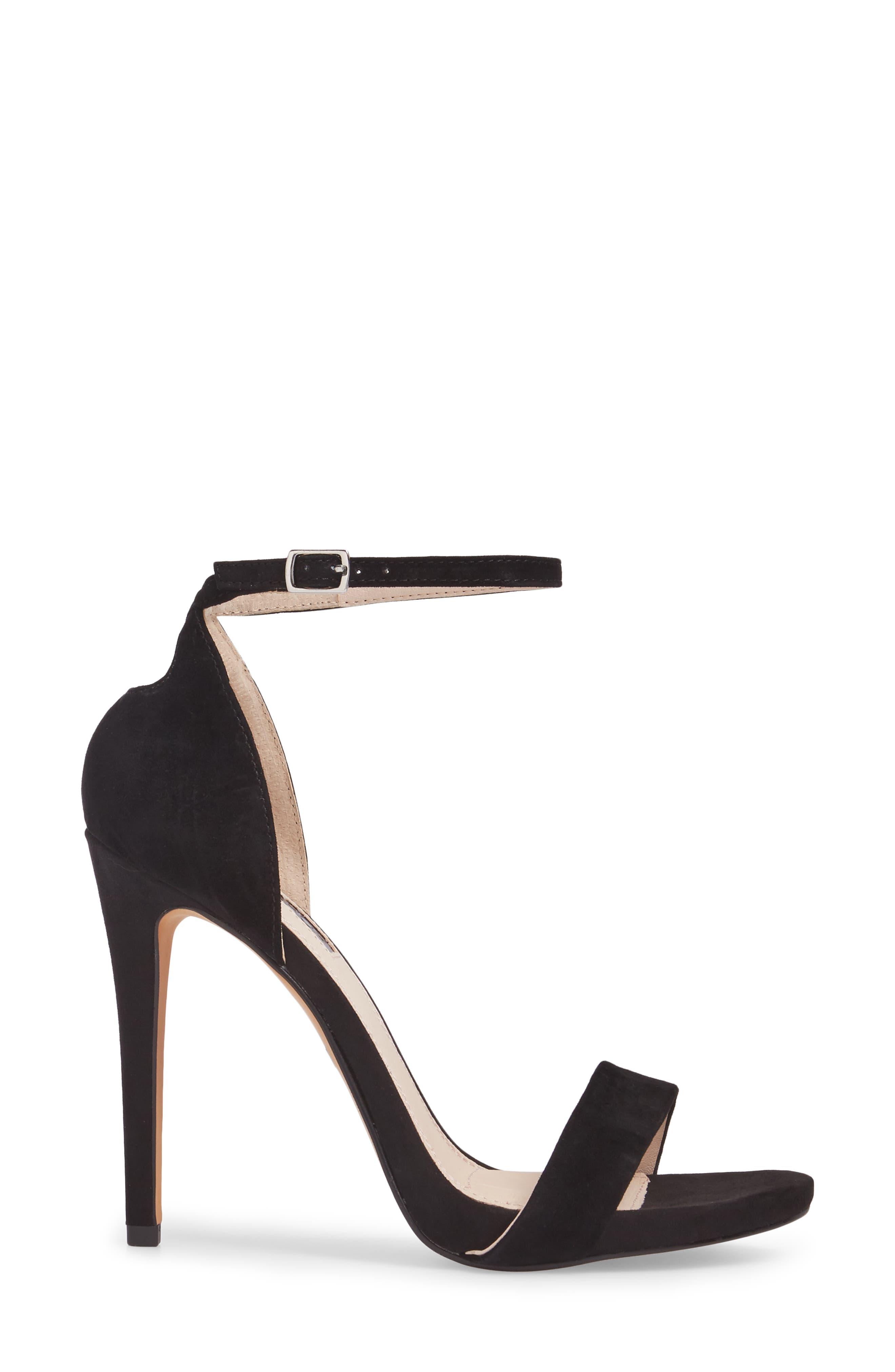 Raphie Ankle Strap Sandal,                             Alternate thumbnail 3, color,                             001