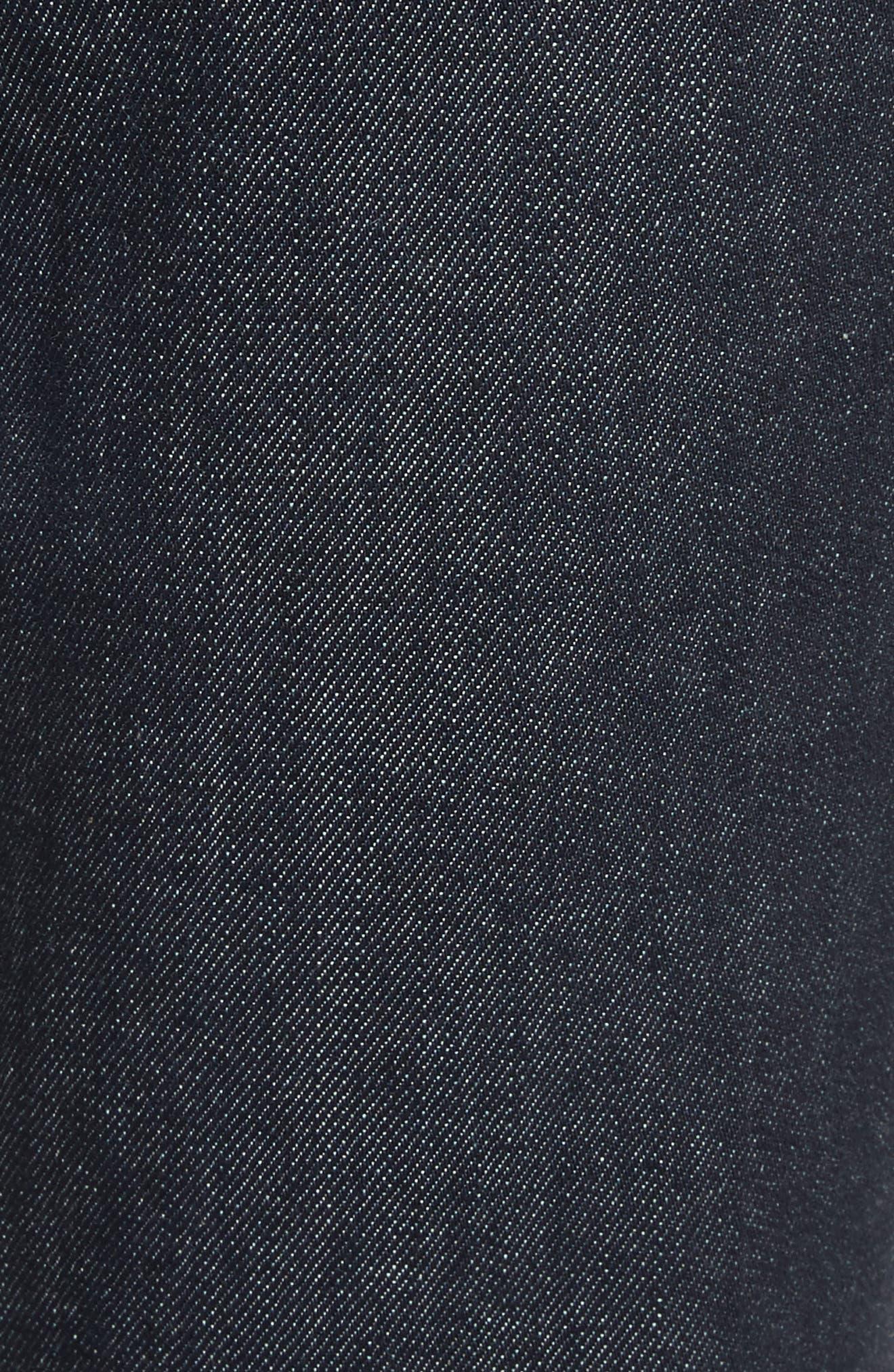 Belted Crop Jeans,                             Alternate thumbnail 5, color,
