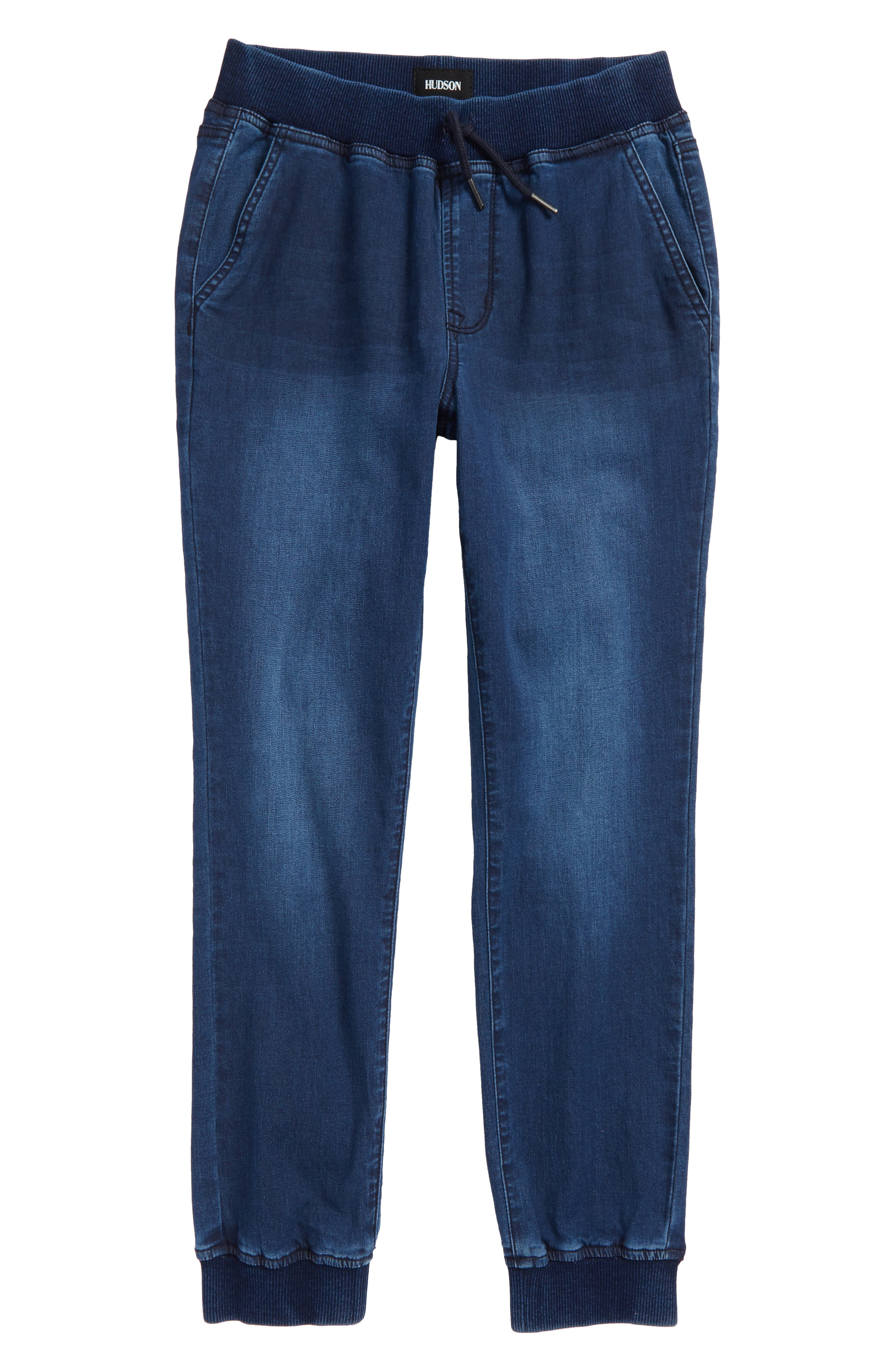 Nate Denim Jogger Pants,                         Main,                         color, 470
