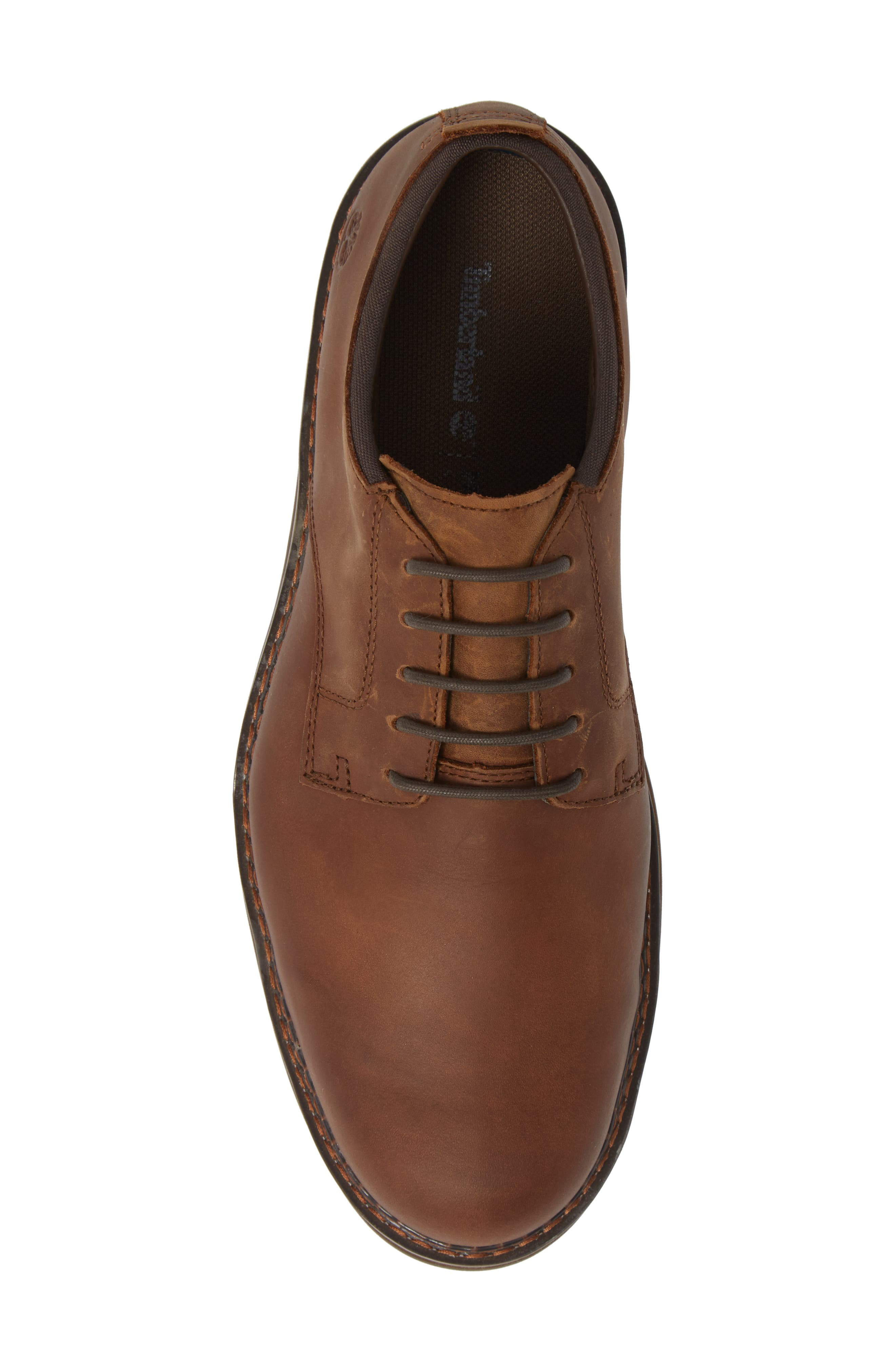Squall Canyon Waterproof Plain Toe Derby,                             Alternate thumbnail 5, color,                             COPPER LEATHER