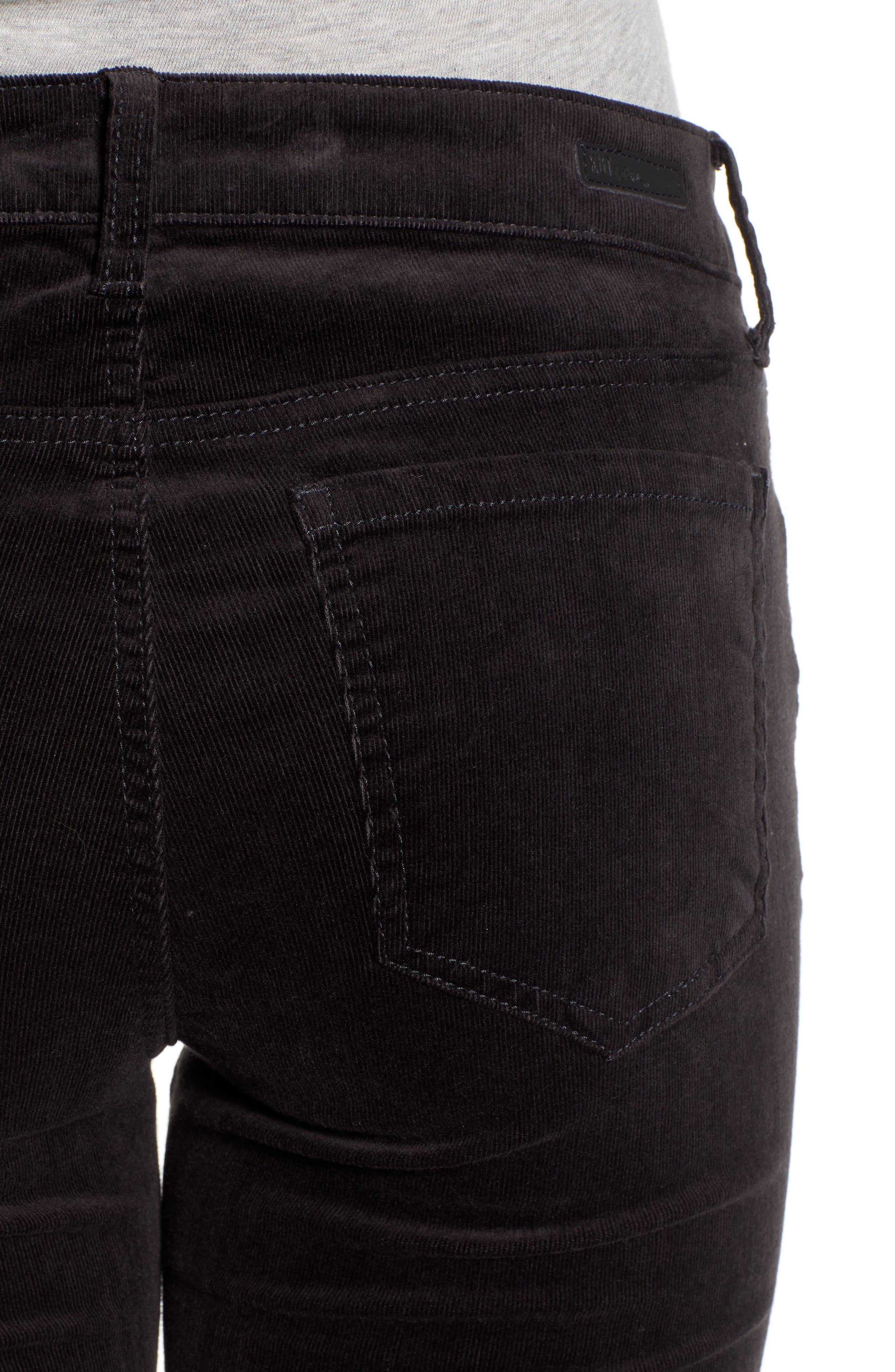 'Diana' Stretch Corduroy Skinny Pants,                             Alternate thumbnail 208, color,
