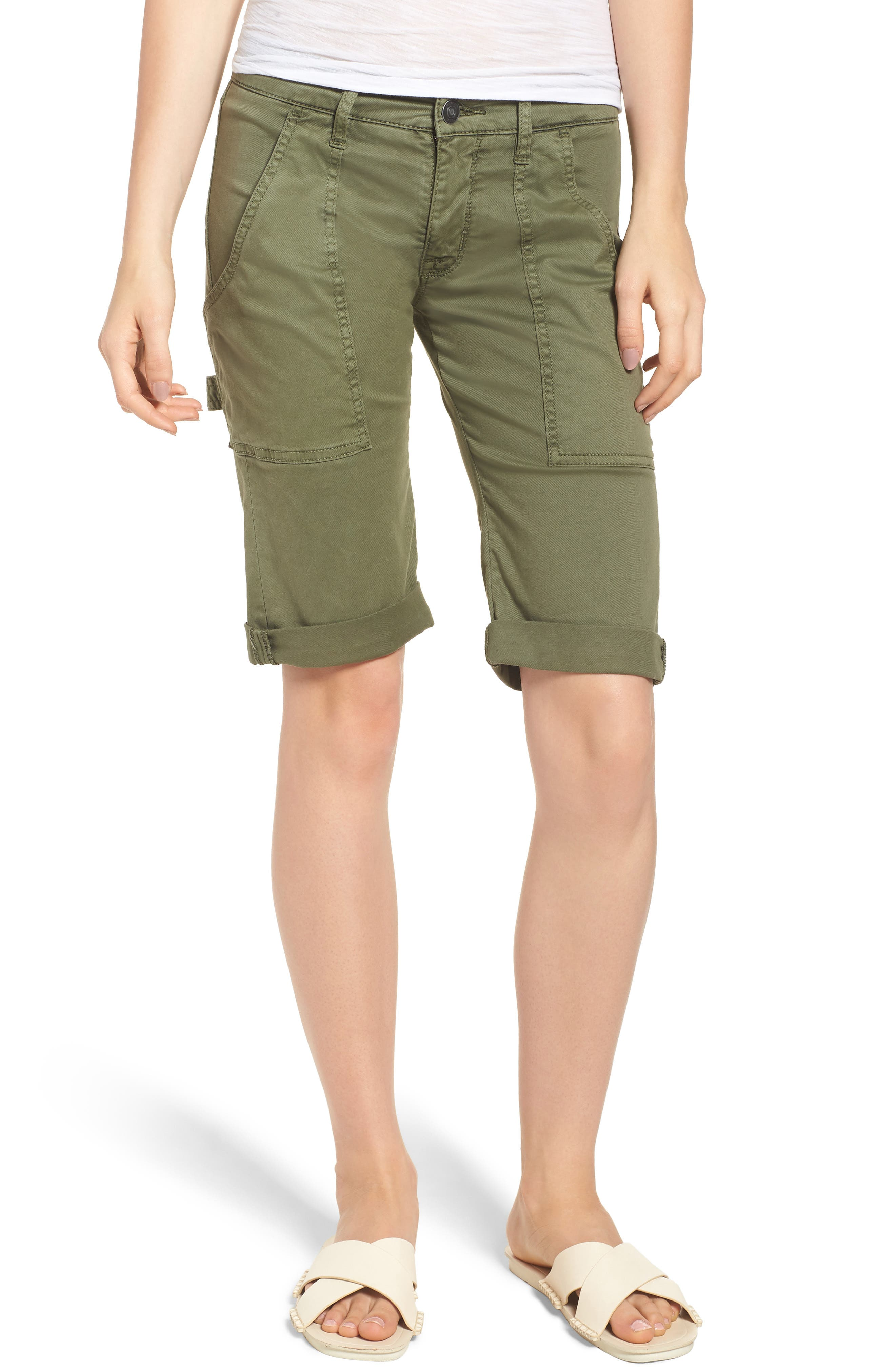 HUDSON JEANS The Leverage Cargo Shorts, Main, color, 363