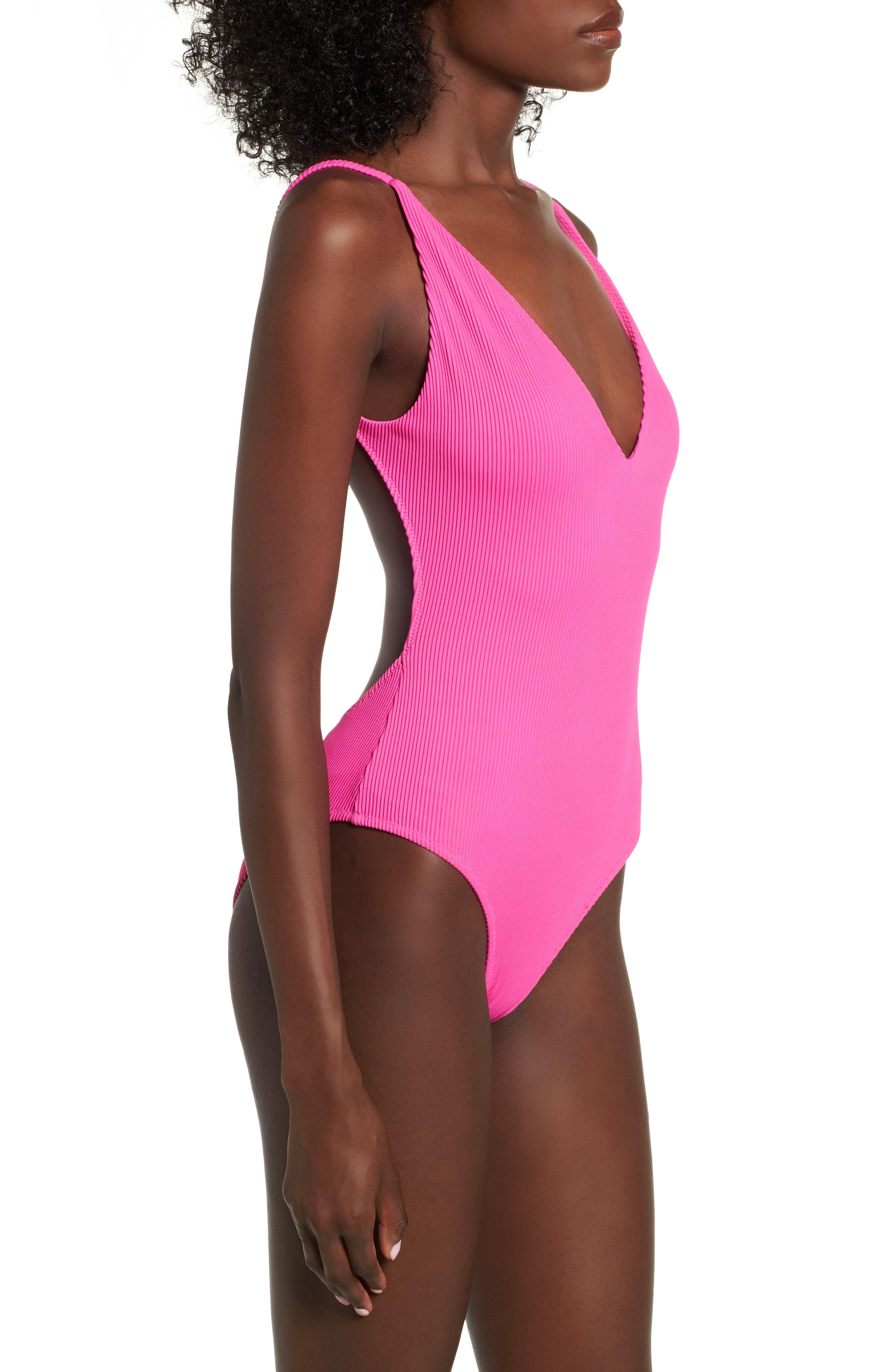 Pamela One-Piece Swimsuit,                             Alternate thumbnail 3, color,                             650