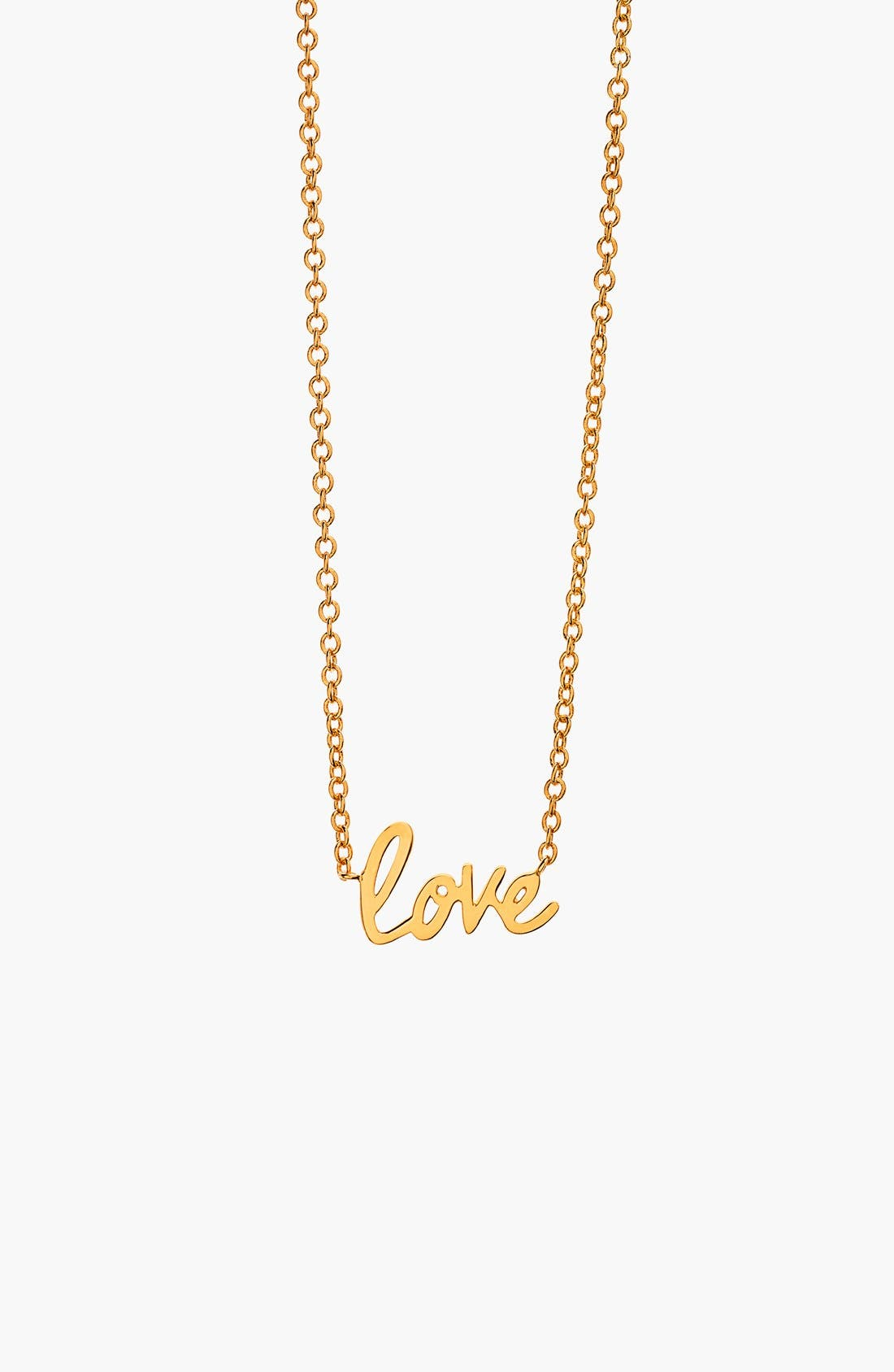 GORJANA 'Love' Pendant Necklace, Main, color, 710