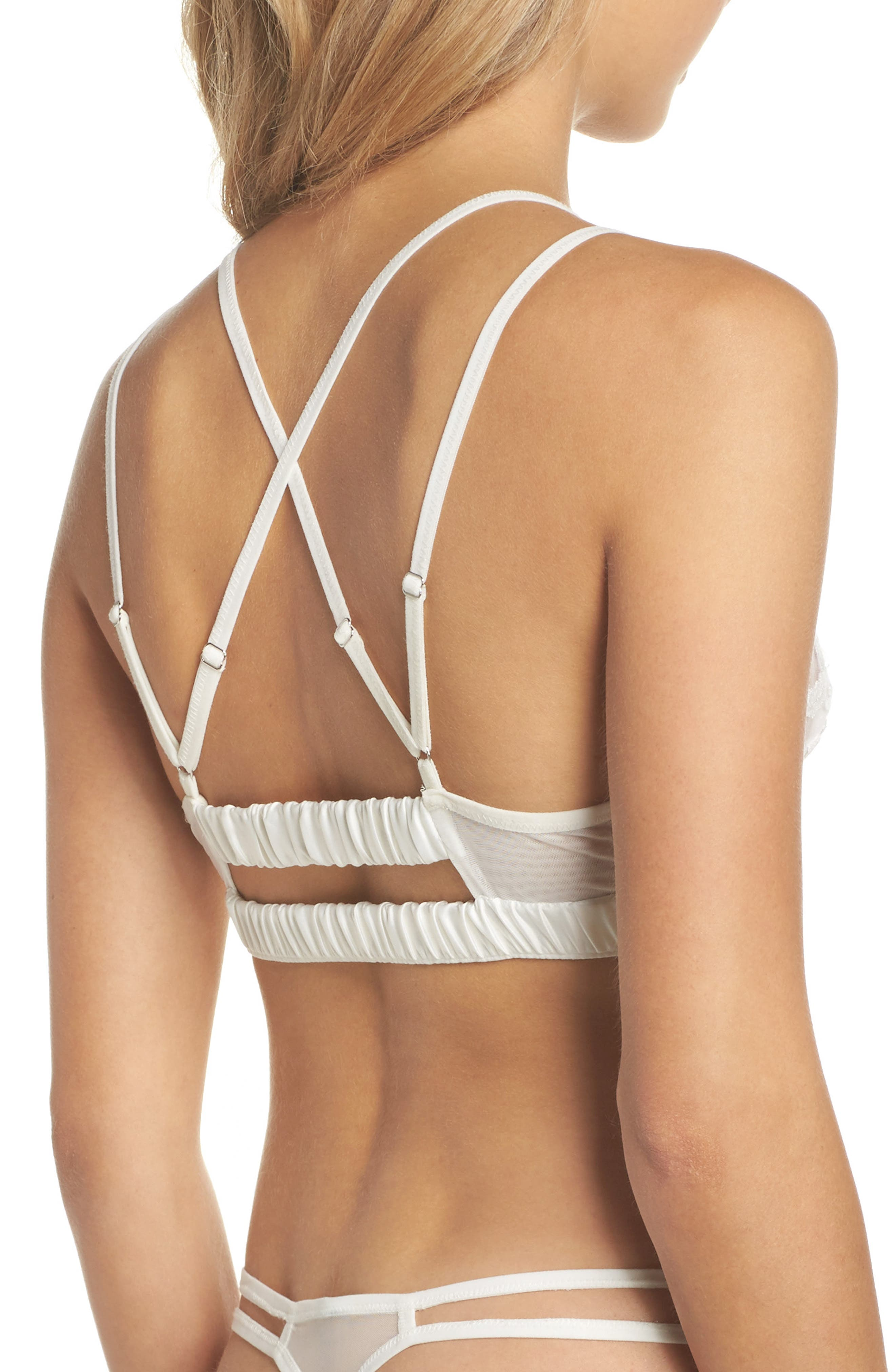 Thistle & Spire Cornelia Strappy Bralette,                             Alternate thumbnail 2, color,                             900