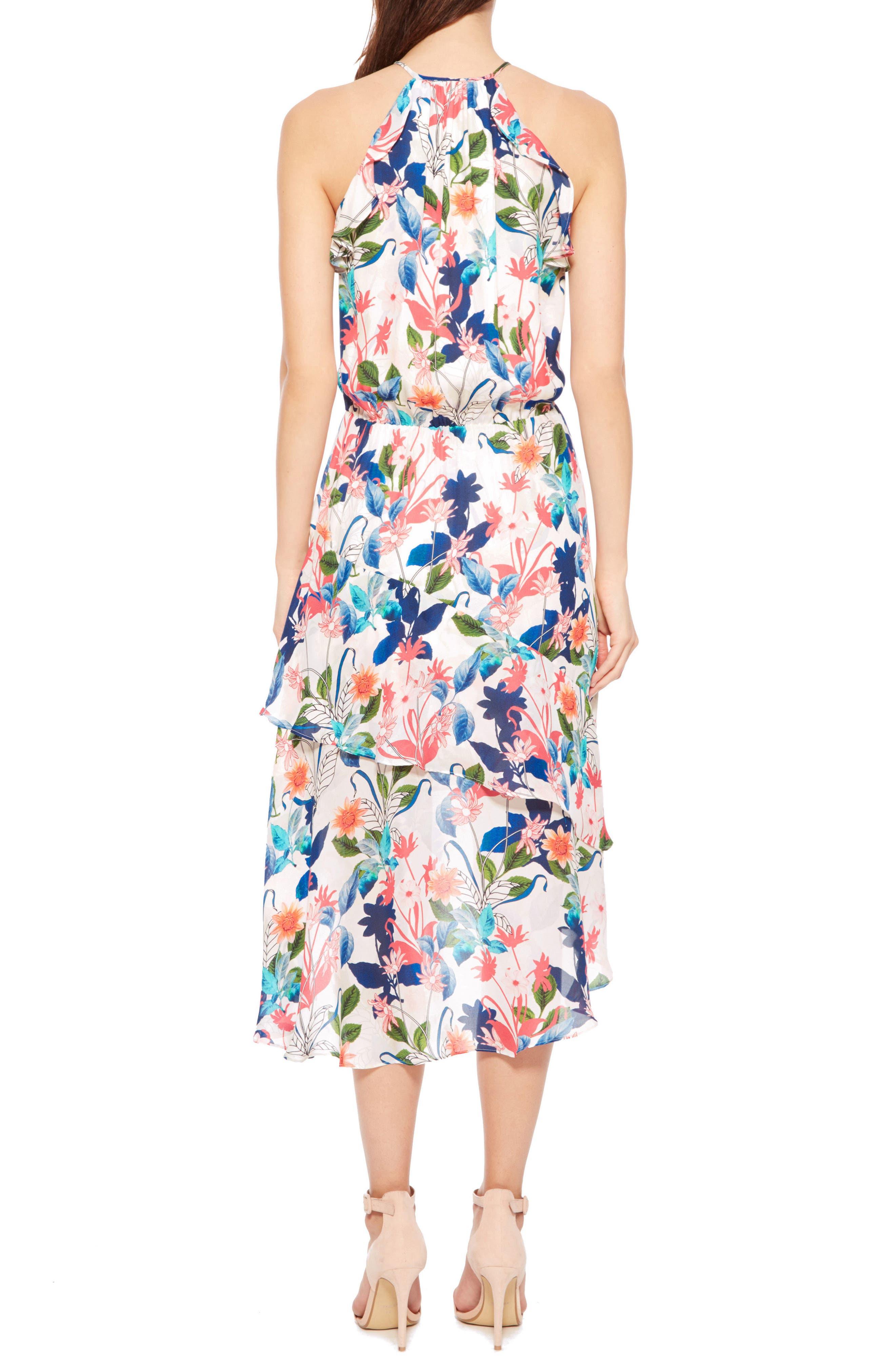 Allister Silk Dress,                             Alternate thumbnail 2, color,                             170