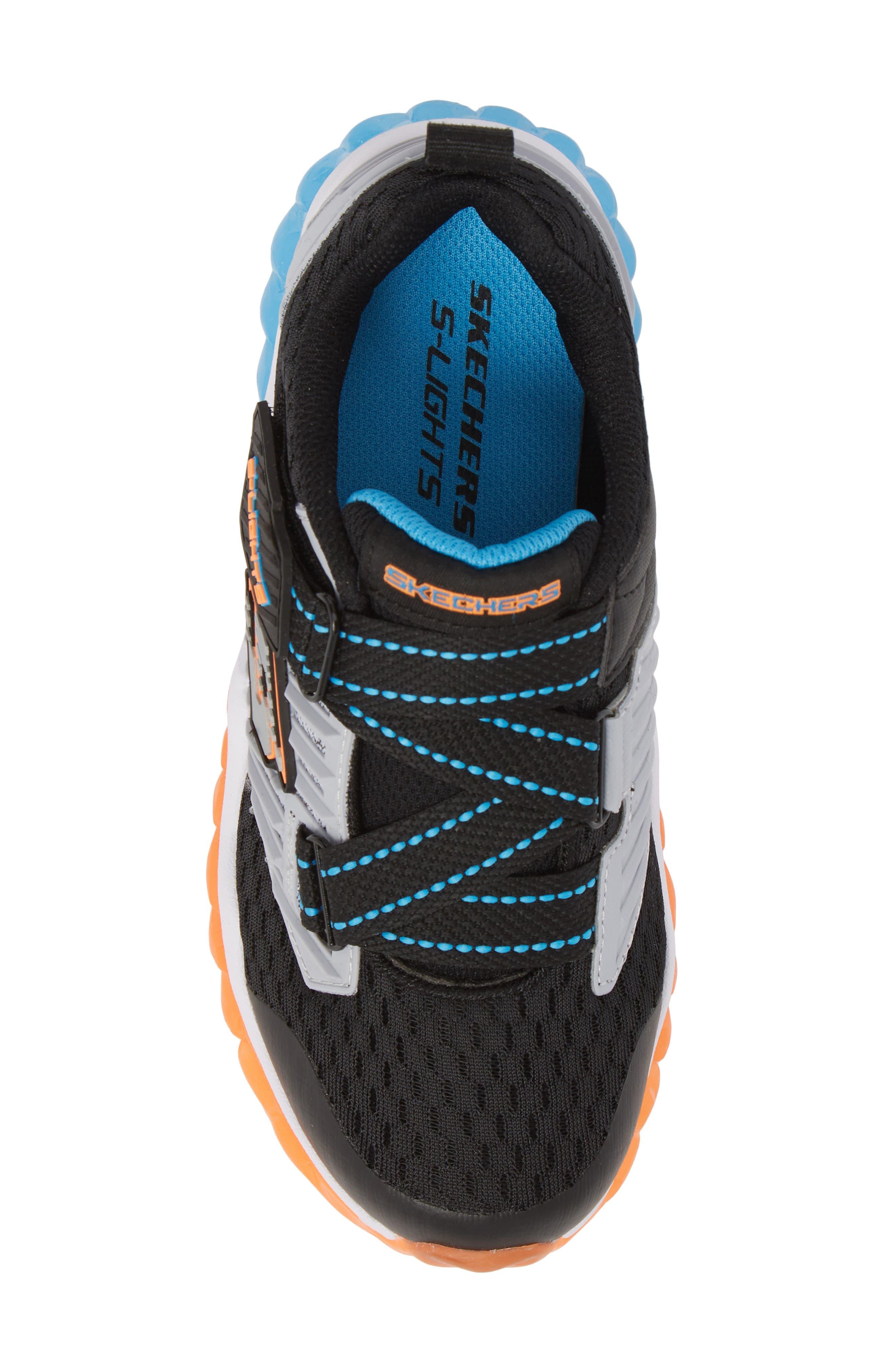 Rapid Flash Light-Up Sneaker,                             Alternate thumbnail 5, color,                             001