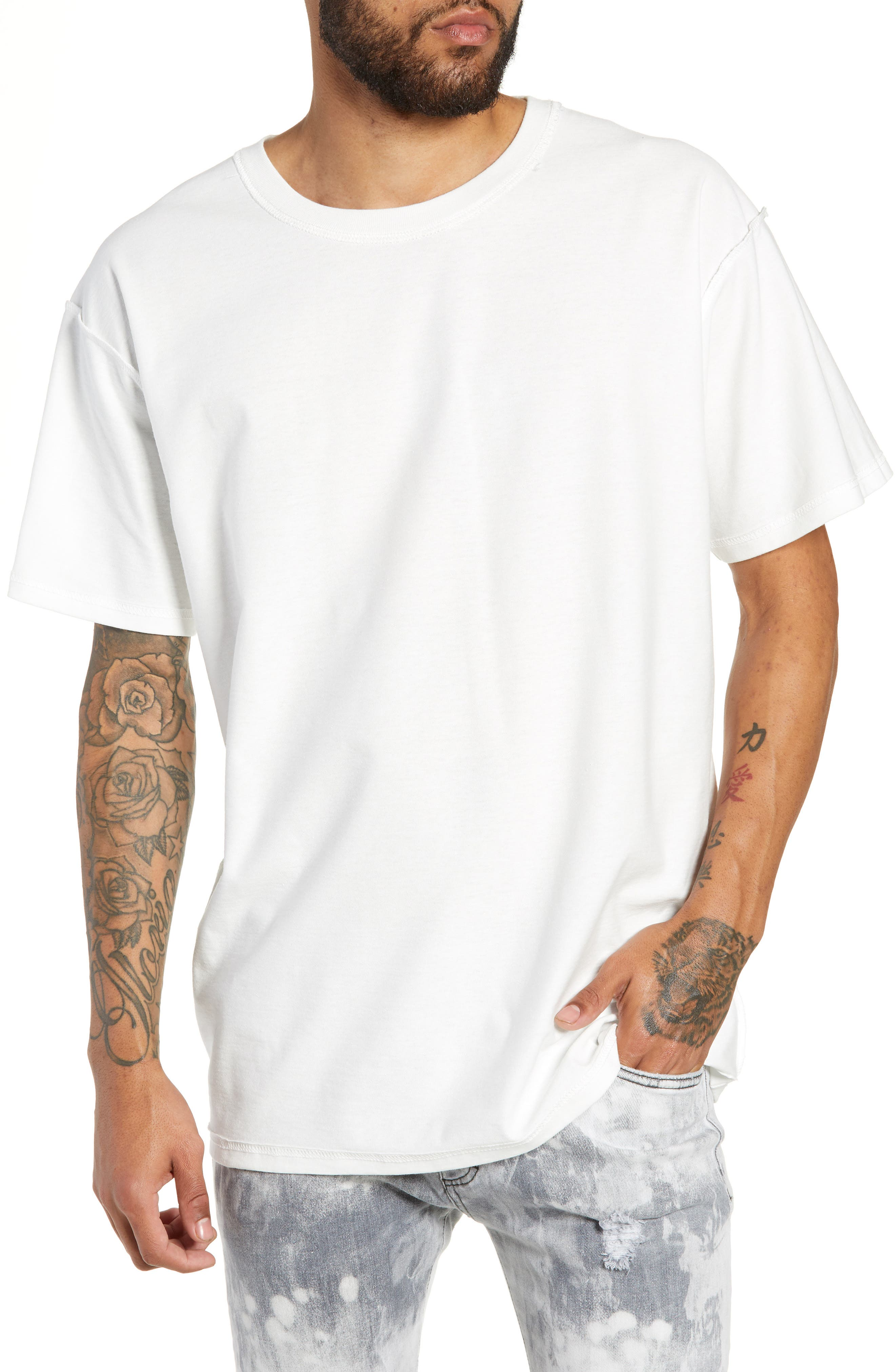 Stand Firm Tour T-Shirt,                             Main thumbnail 1, color,                             WHITE