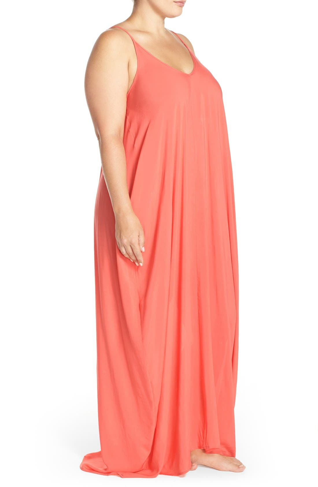 Cover-Up Maxi Dress,                             Alternate thumbnail 41, color,