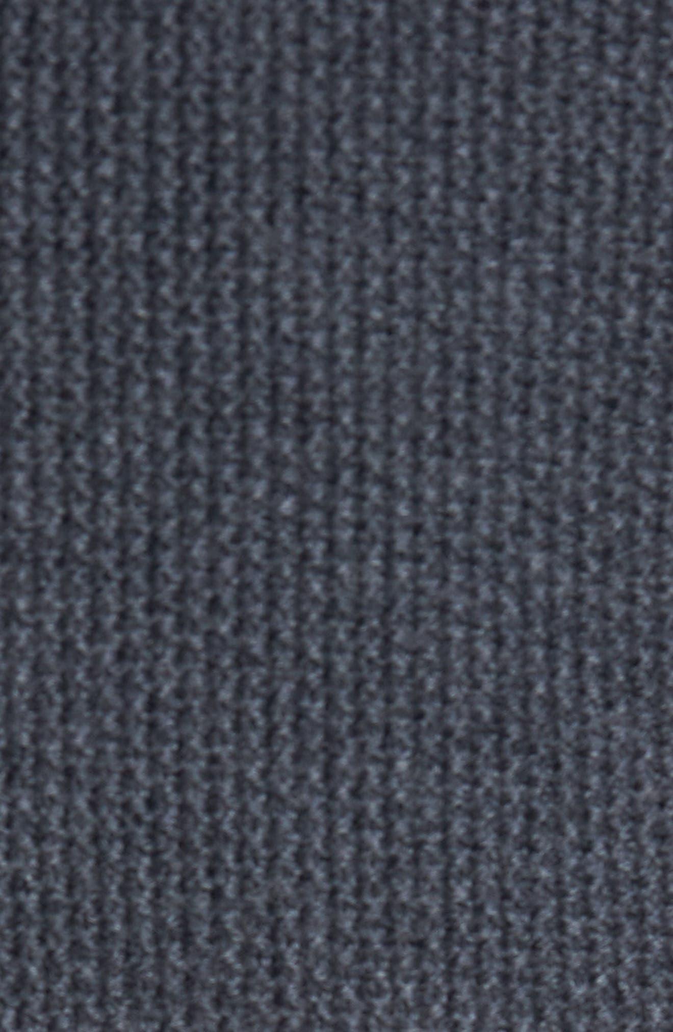 Hinman Quilt Front Merino Cardigan,                             Alternate thumbnail 5, color,                             010