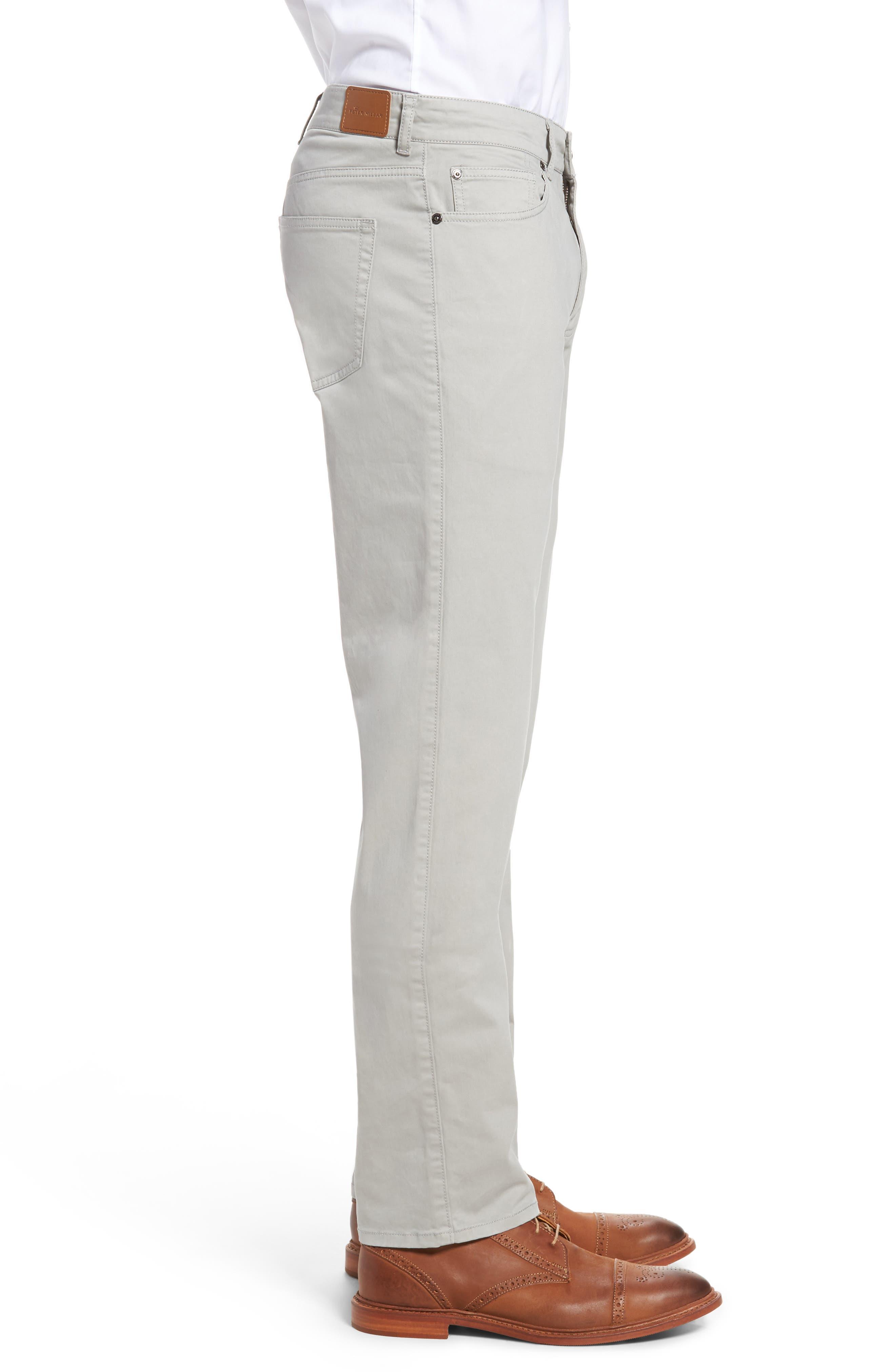 Stretch Sateen Five-Pocket Pants,                             Alternate thumbnail 3, color,                             050