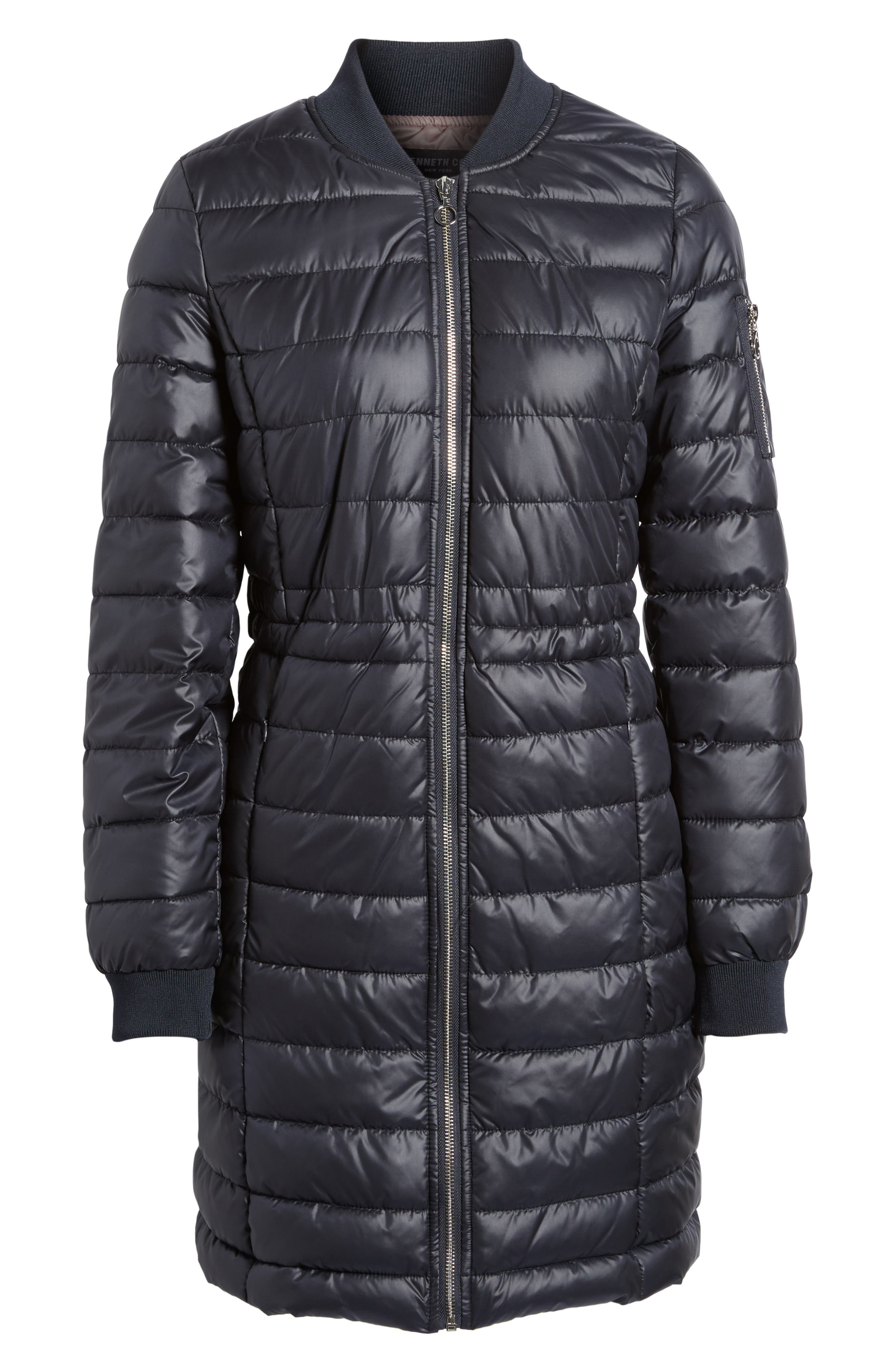 Lightweight Quilted Puffer Coat,                             Alternate thumbnail 19, color,