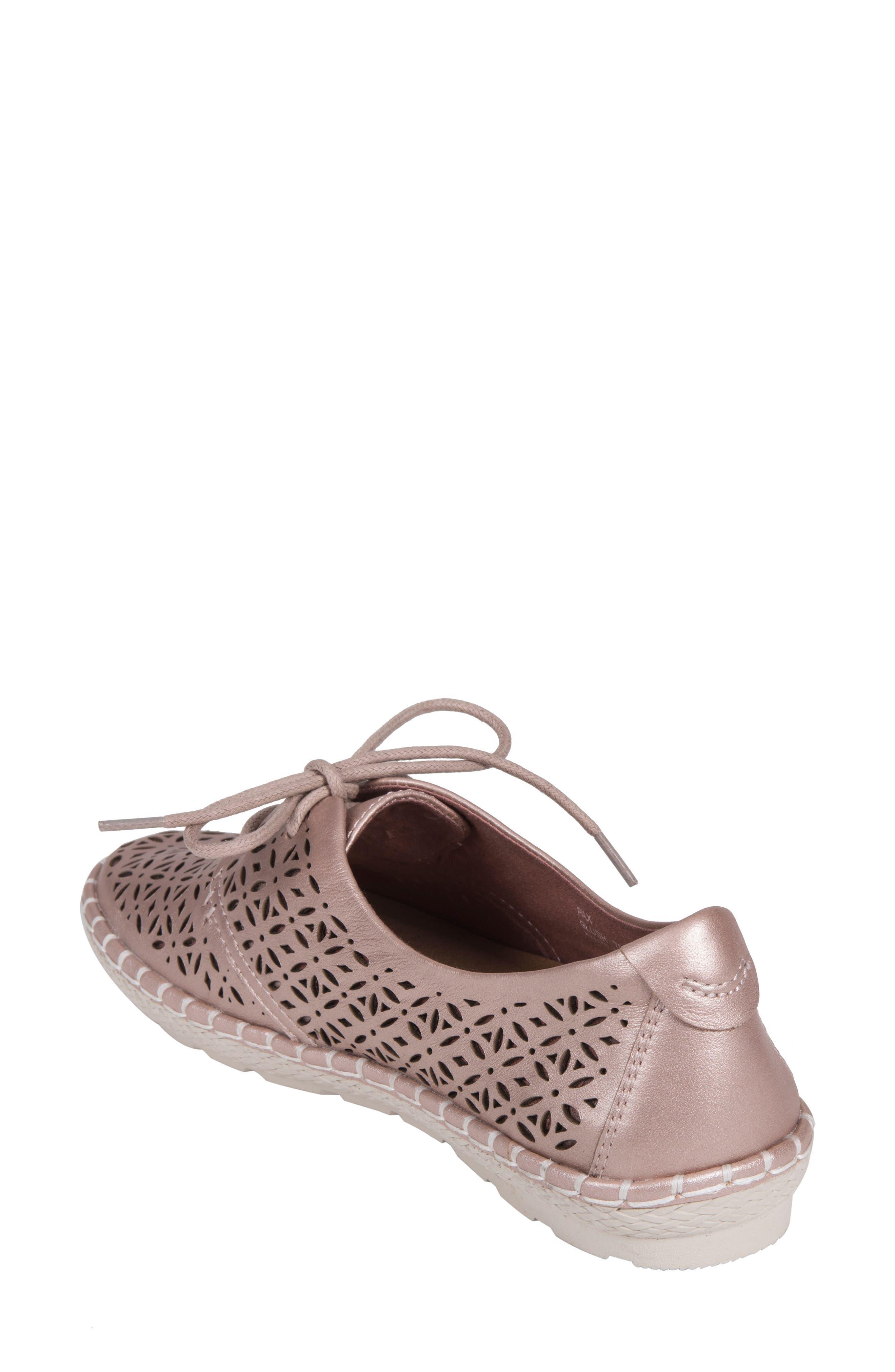 Pax Sneaker,                             Alternate thumbnail 2, color,                             BLUSH LEATHER