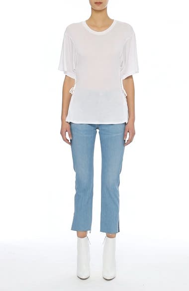 Alternate Video 8  - Jean Atelier Axel Lace-Up Tee