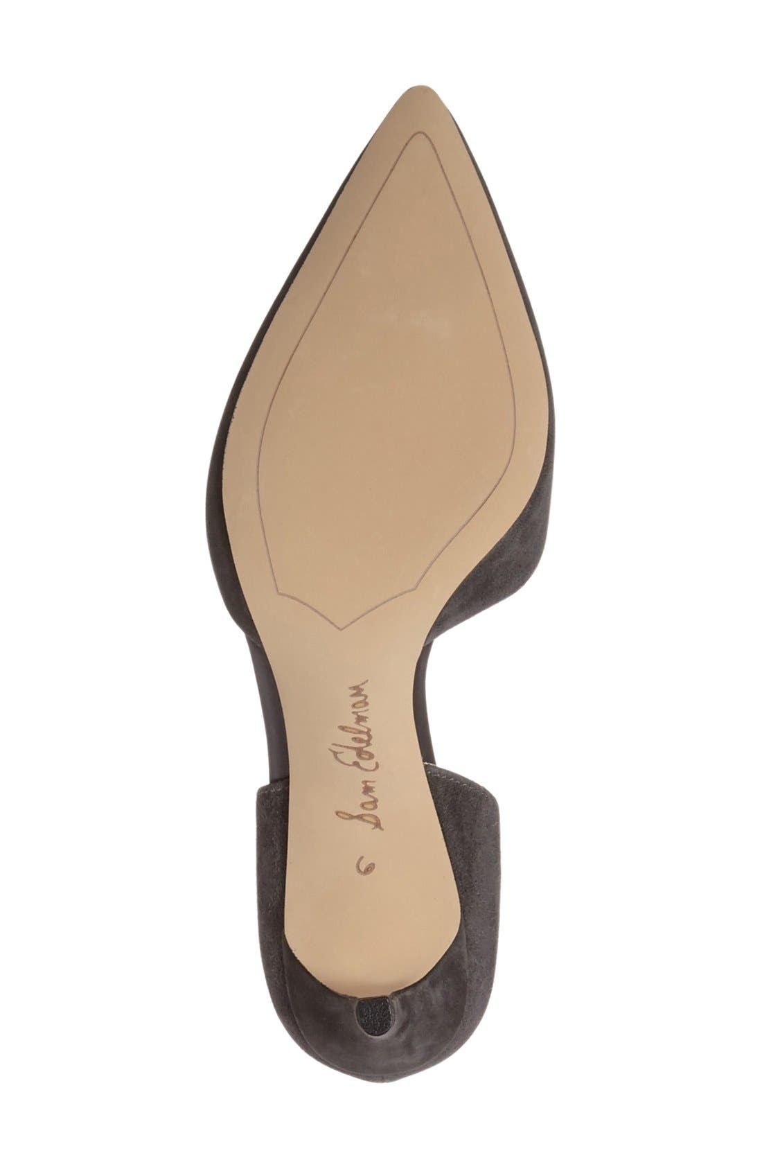 'Telsa' d'Orsay Pointy Toe Pump,                             Alternate thumbnail 58, color,