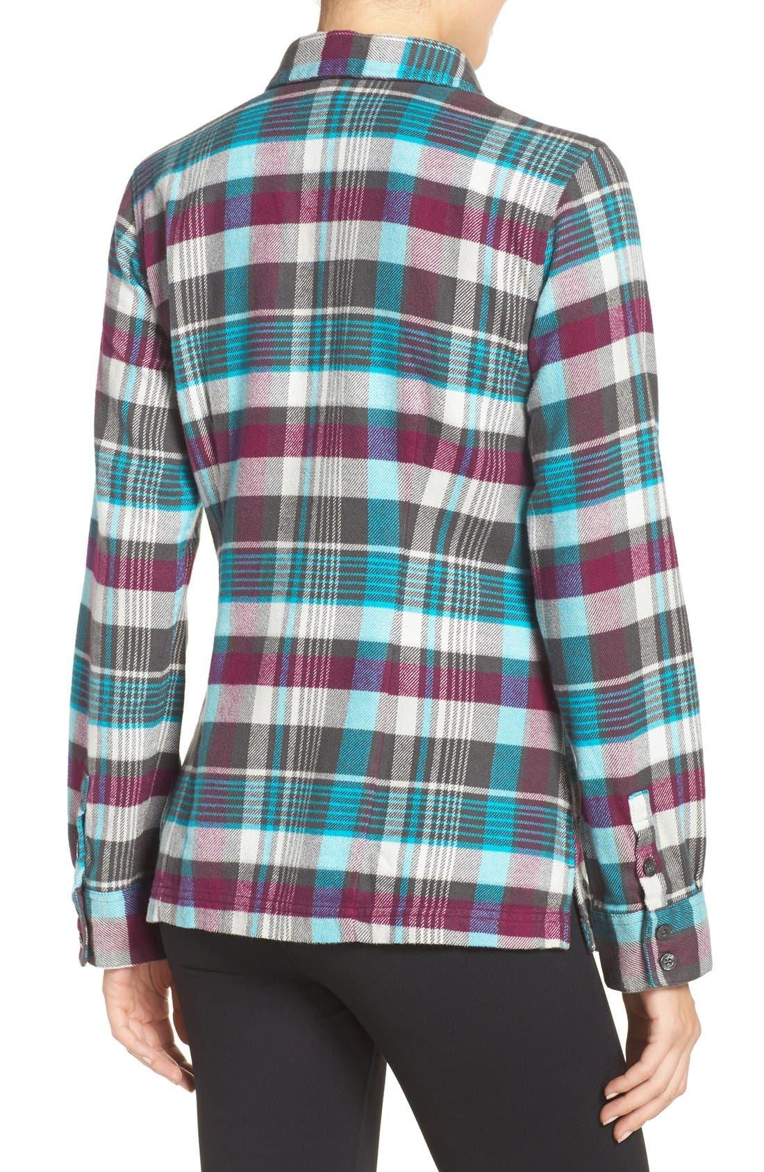 'Fjord' Flannel Shirt,                             Alternate thumbnail 87, color,