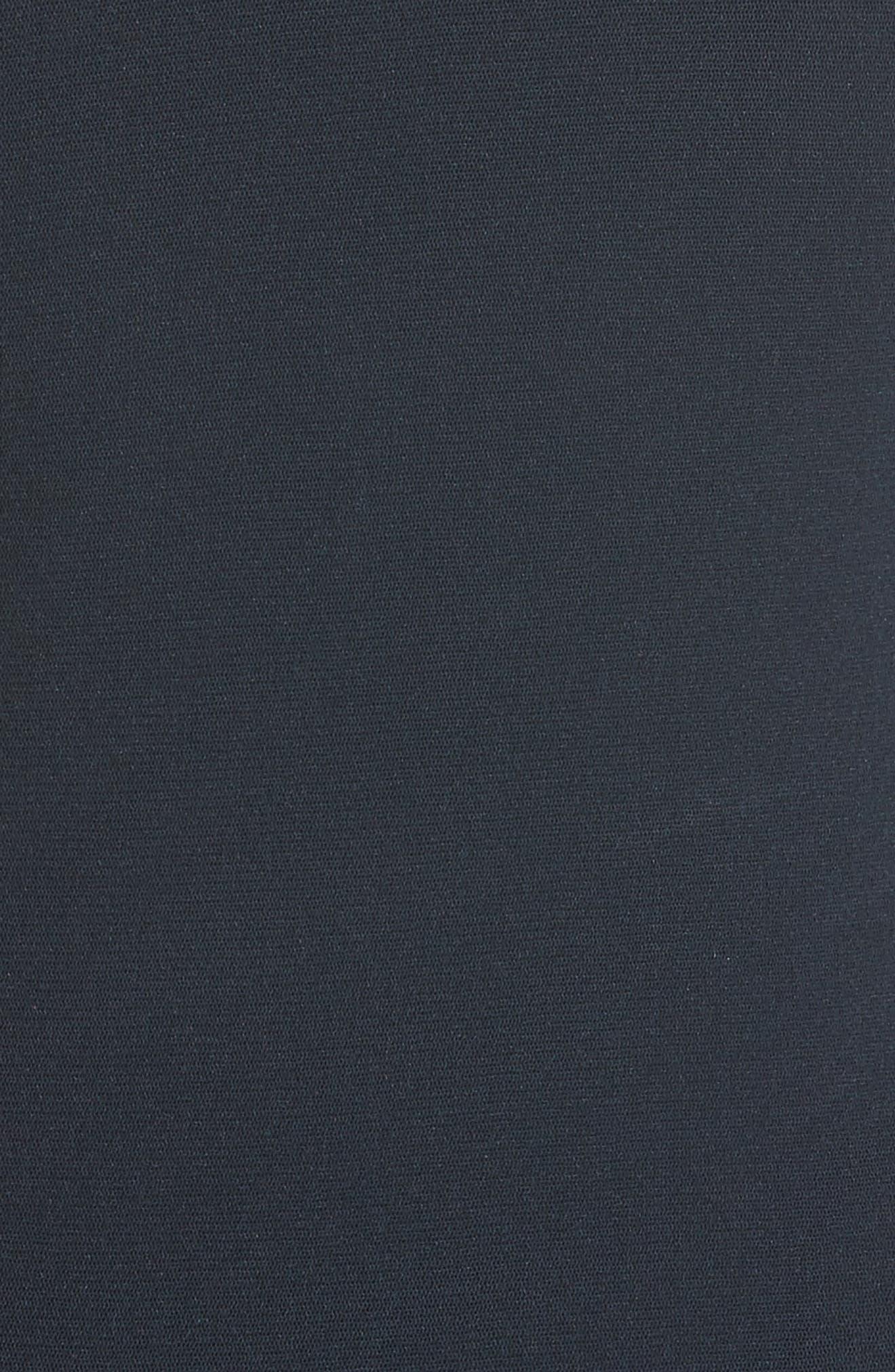 Tulle One-Shoulder Midi Dress,                             Alternate thumbnail 5, color,                             410