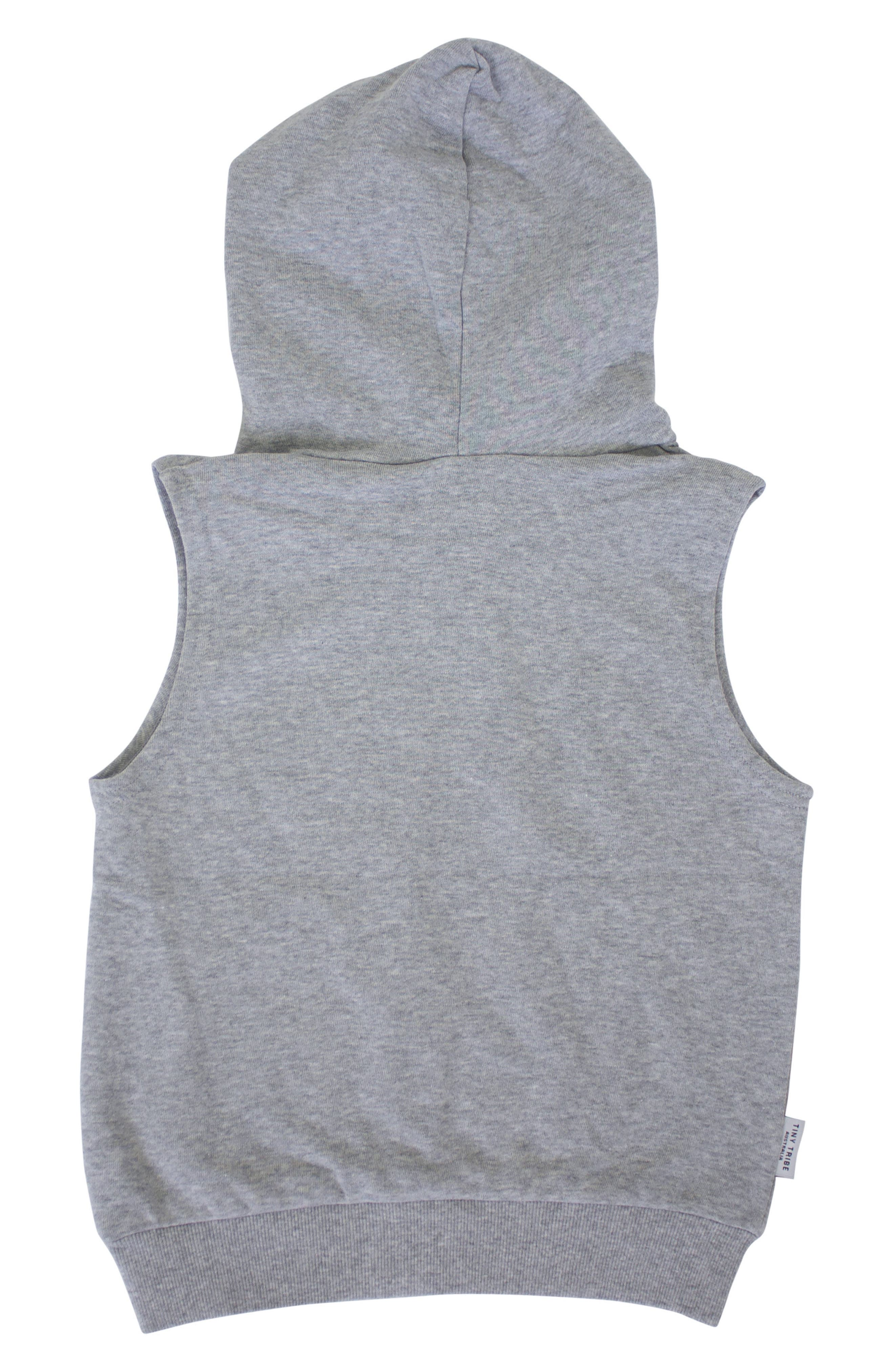 Electric Bat Hooded Vest,                             Alternate thumbnail 3, color,                             035