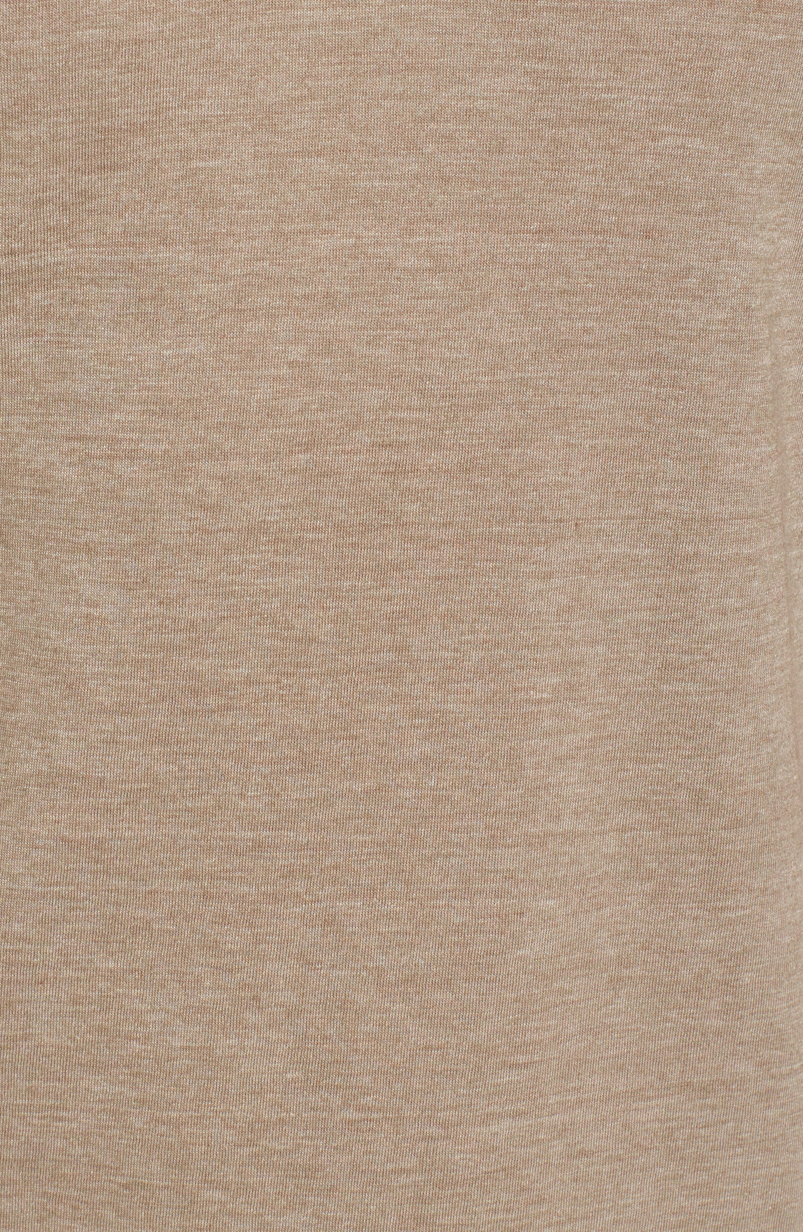 Scallop Triblend V-Neck T-Shirt,                             Alternate thumbnail 94, color,
