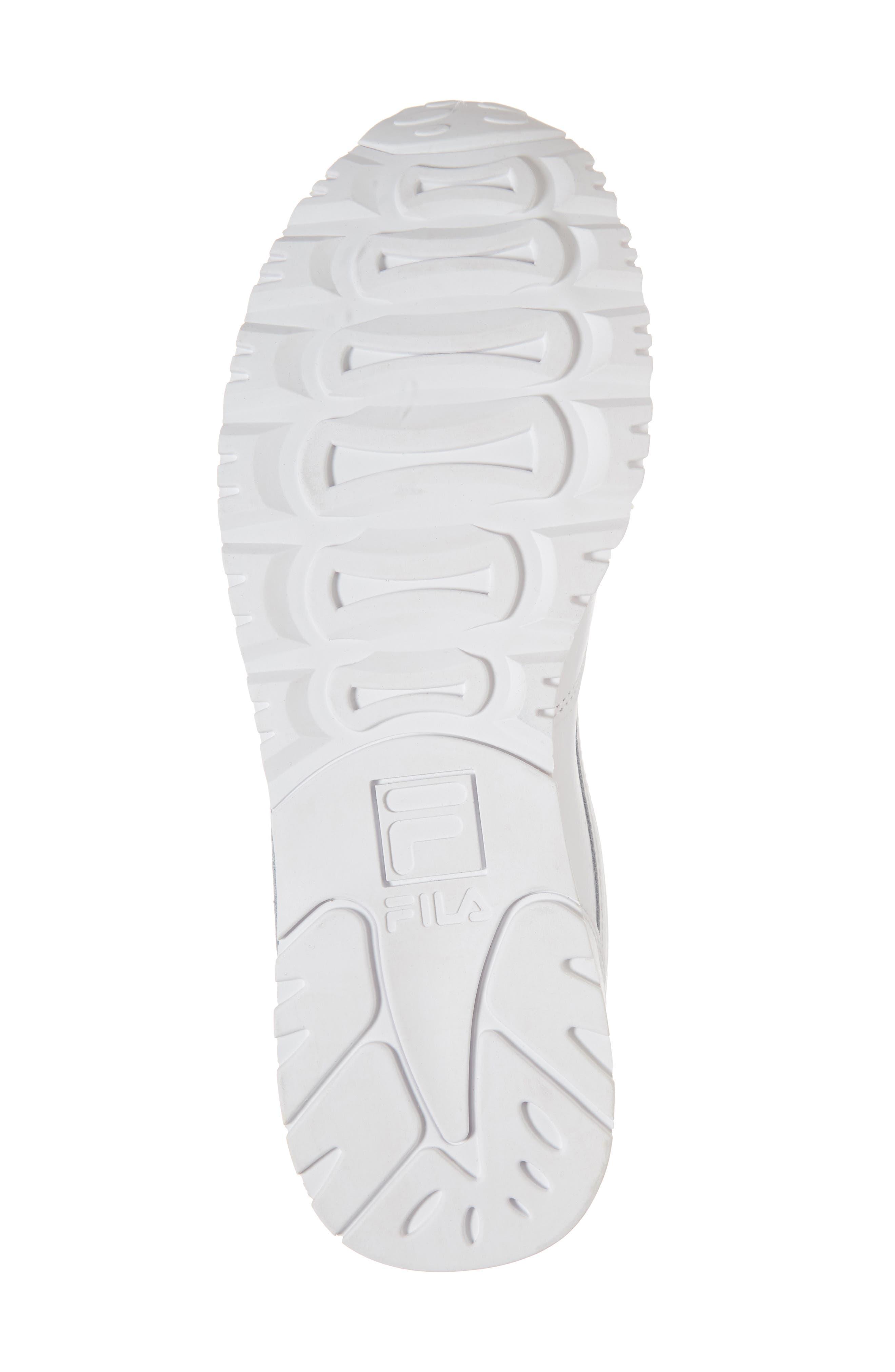 Euro Jogger Sneaker,                             Alternate thumbnail 6, color,                             WHITE/ NAVY/ RED