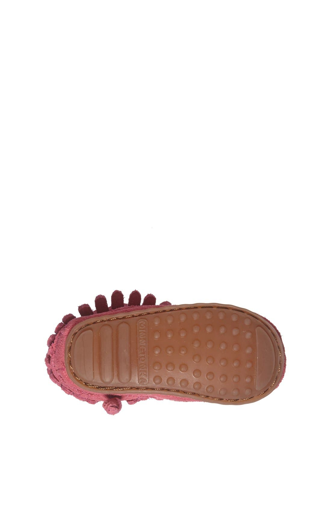 Double Fringe Moccasin,                             Alternate thumbnail 12, color,
