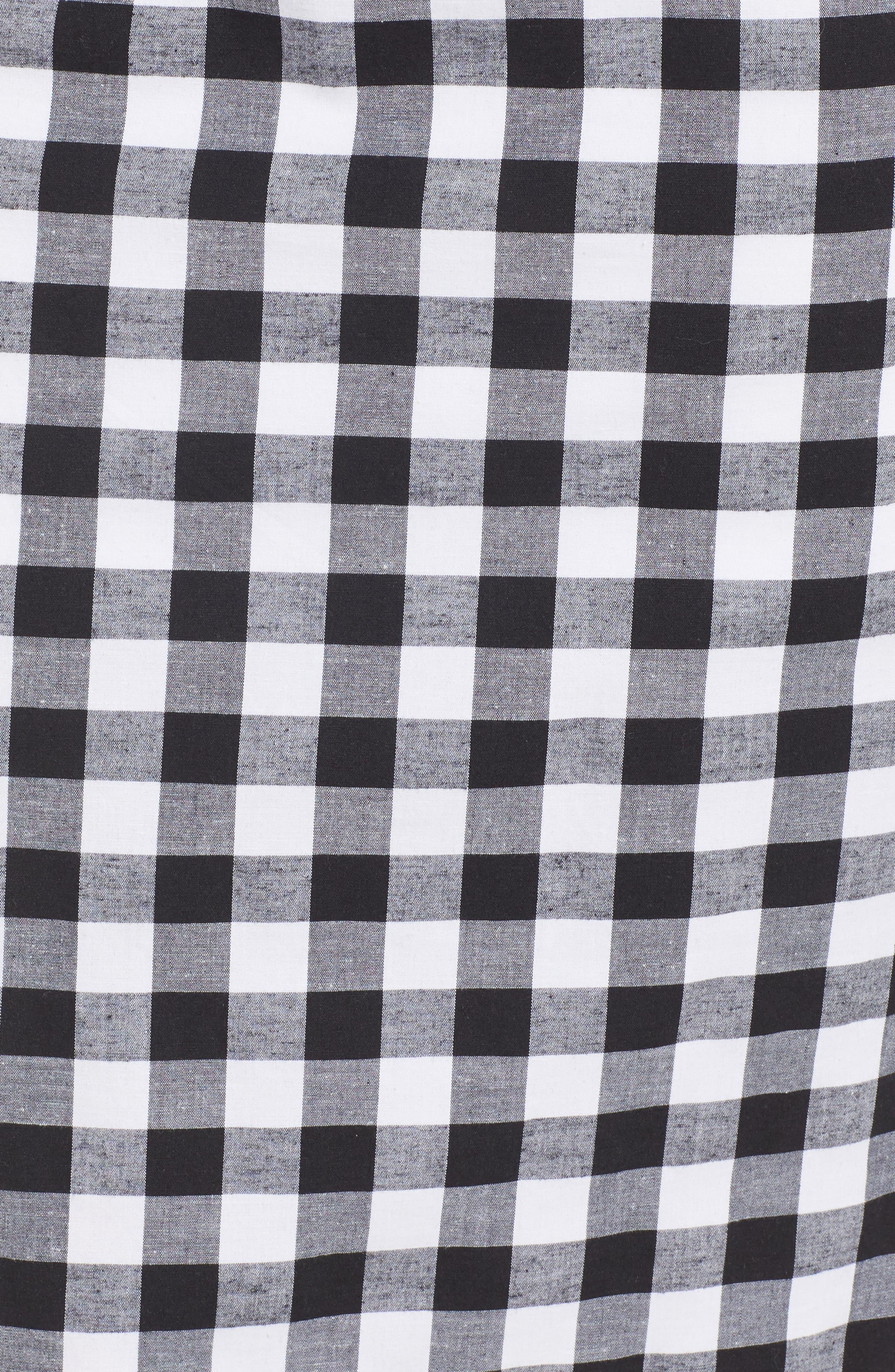 Verona Cutout Midi Dress,                             Alternate thumbnail 6, color,                             001