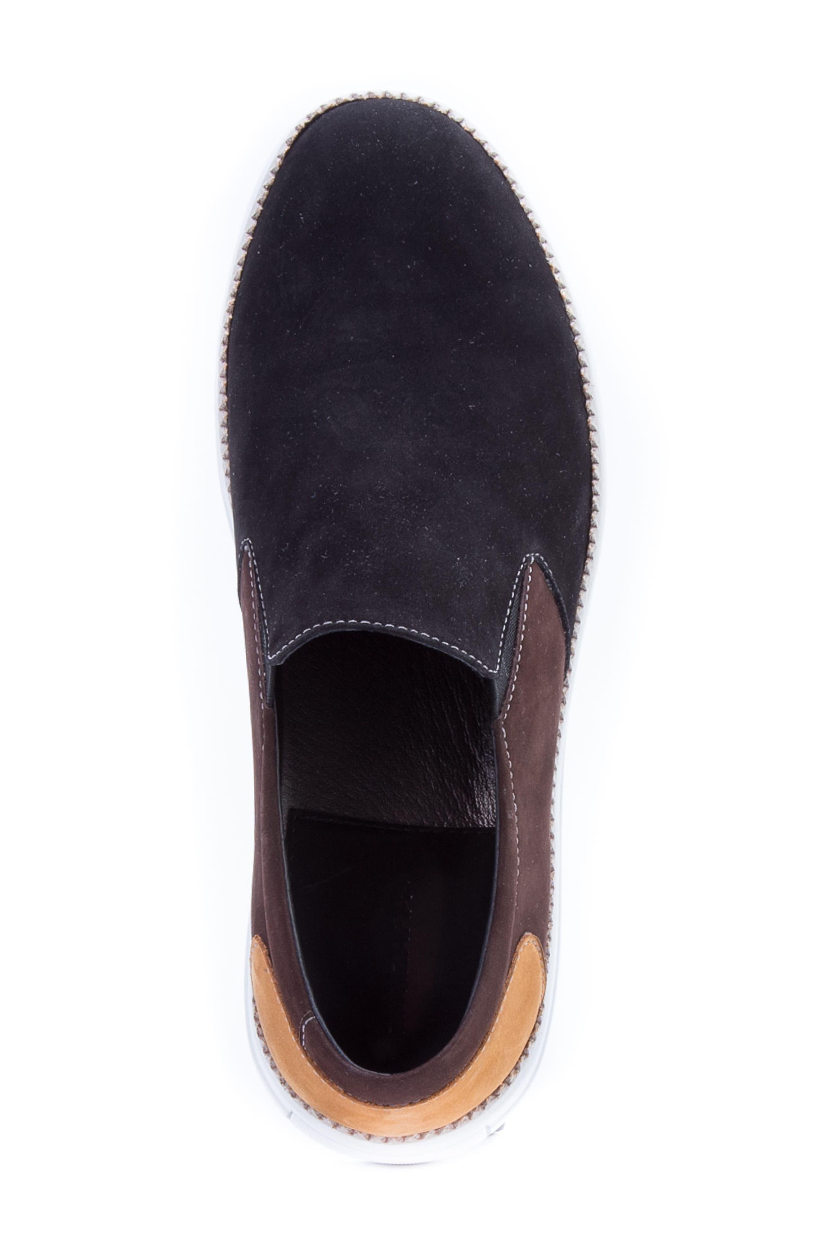 ZANZARA,                             Rivera Colorblocked Slip-On Sneaker,                             Alternate thumbnail 5, color,                             001