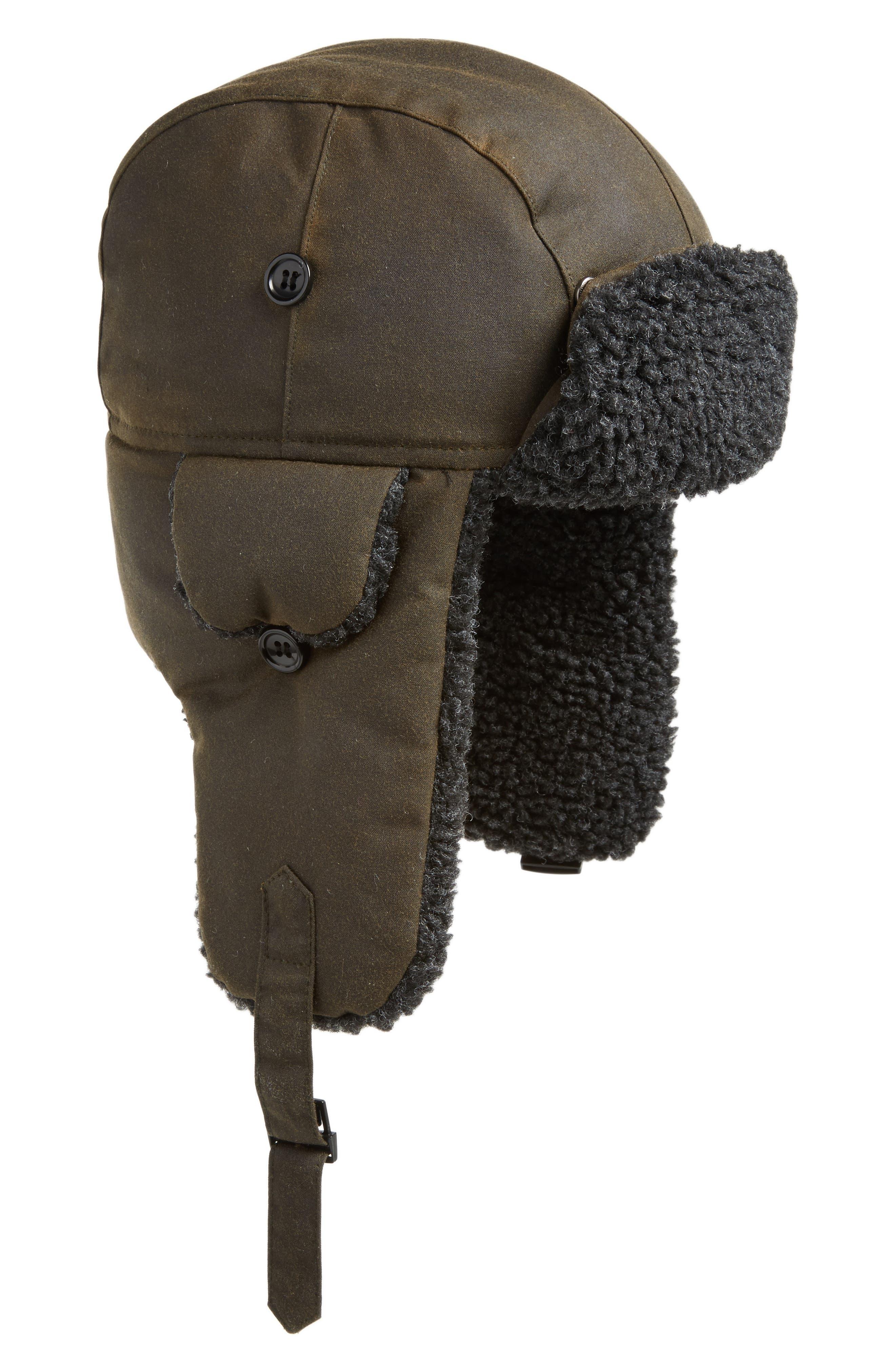 Fleece Lined Trapper Hat,                             Main thumbnail 2, color,