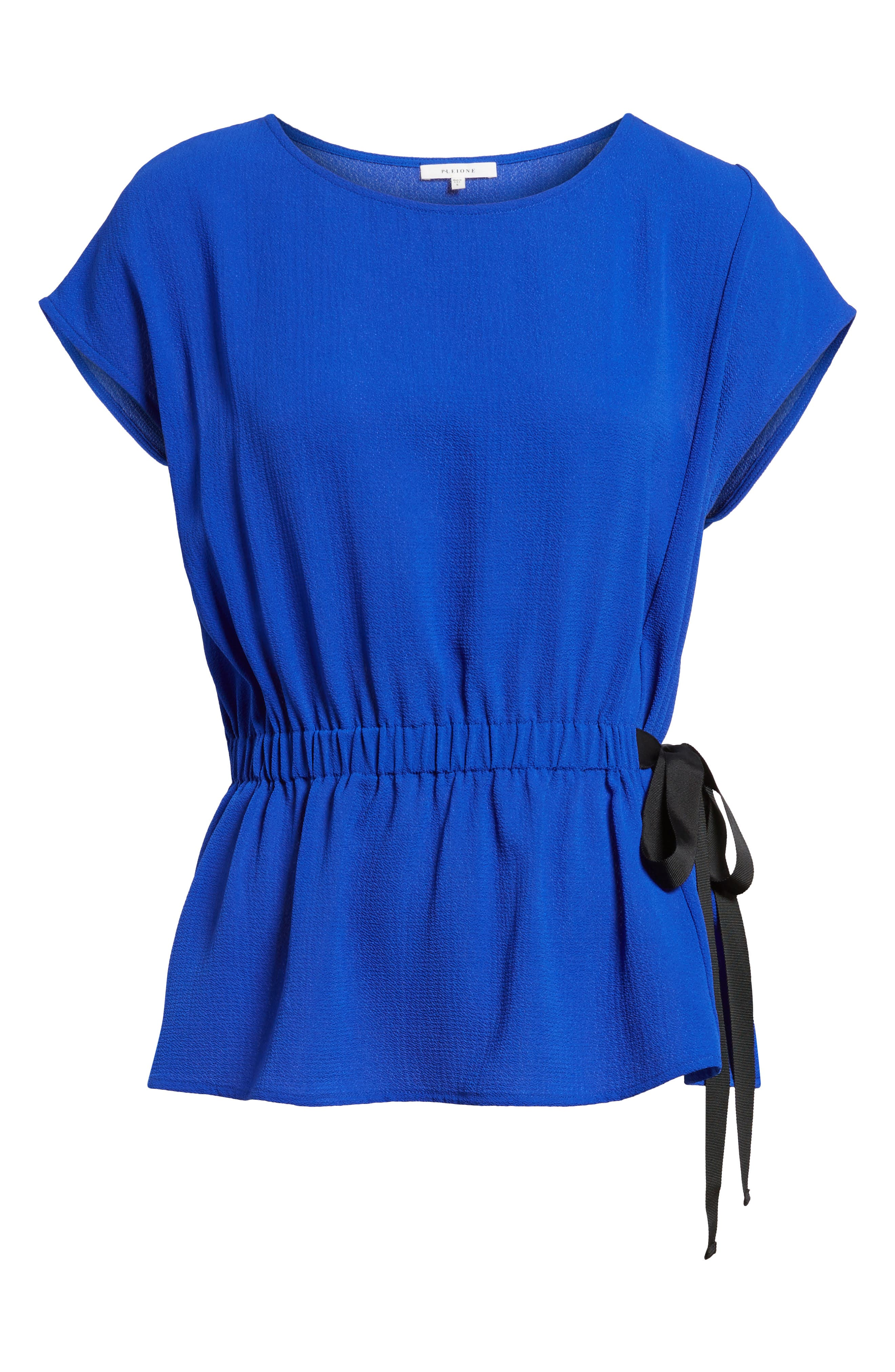 Gathered Waist Side Tie Top,                             Alternate thumbnail 34, color,