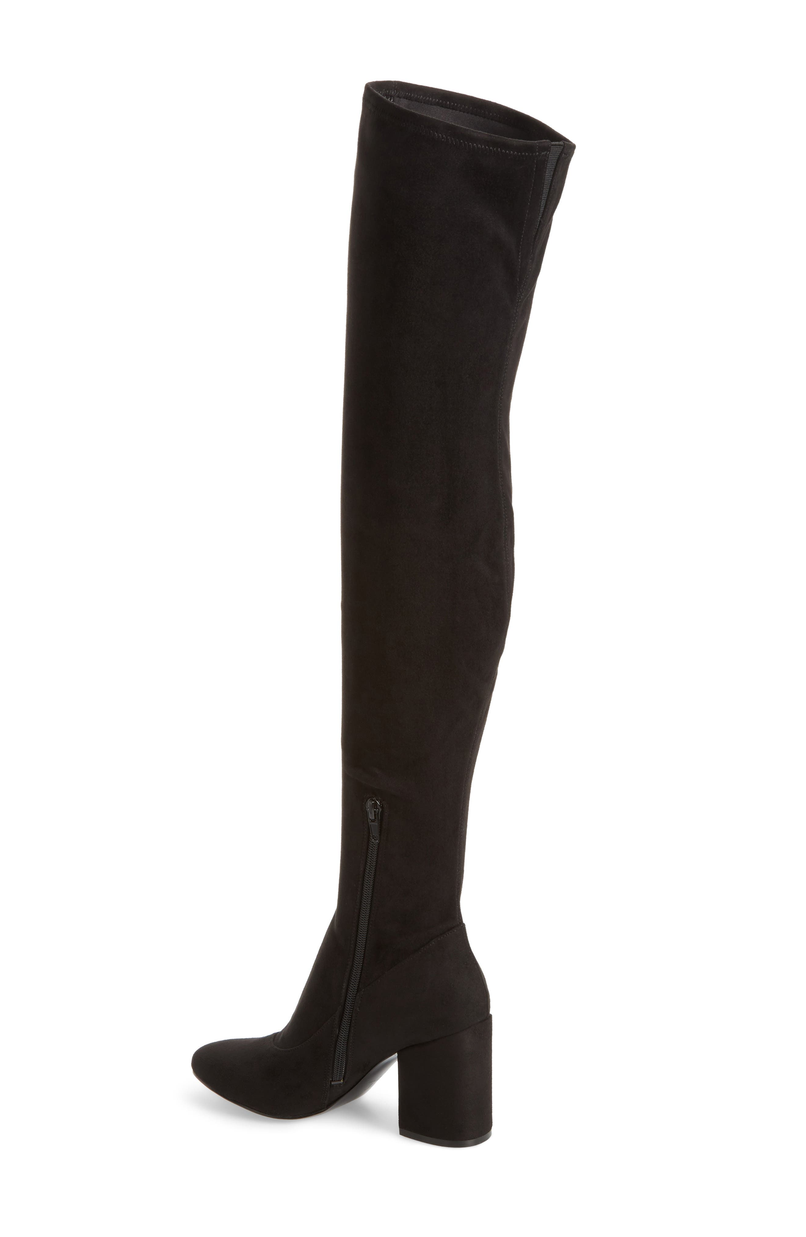 Praye Over the Knee Boot,                             Alternate thumbnail 2, color,                             001