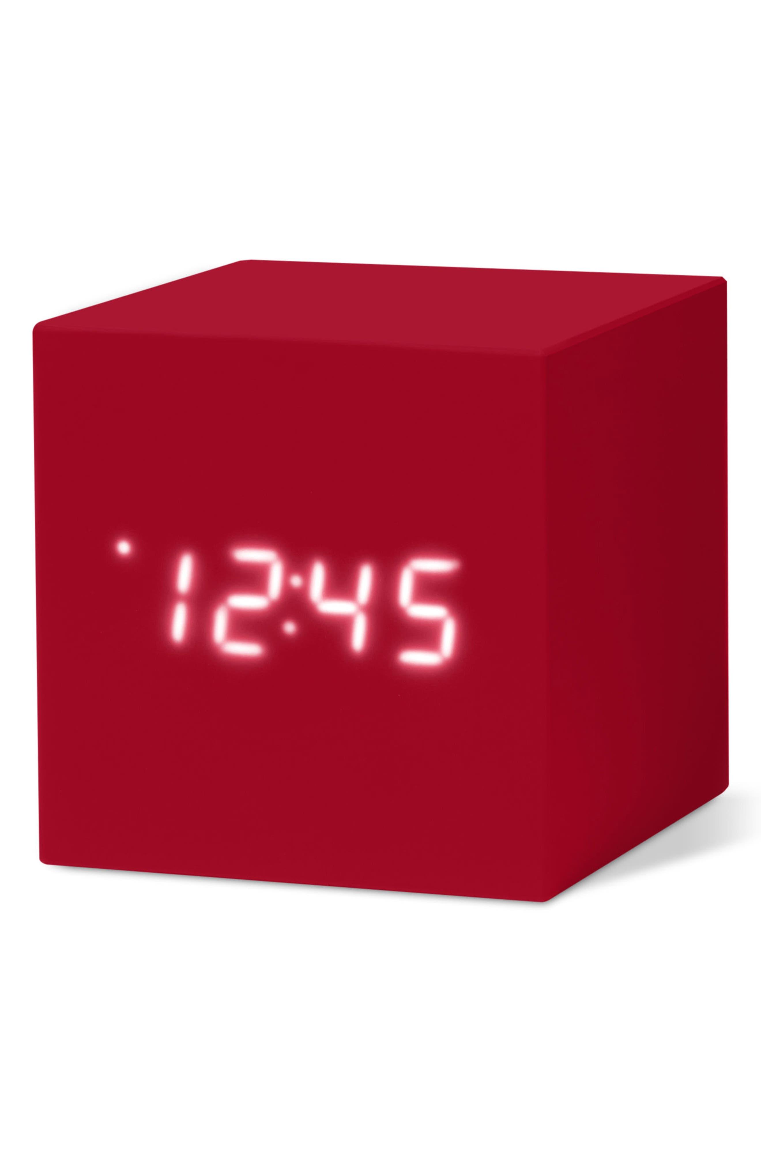 Color Cube Clock,                             Alternate thumbnail 8, color,                             001