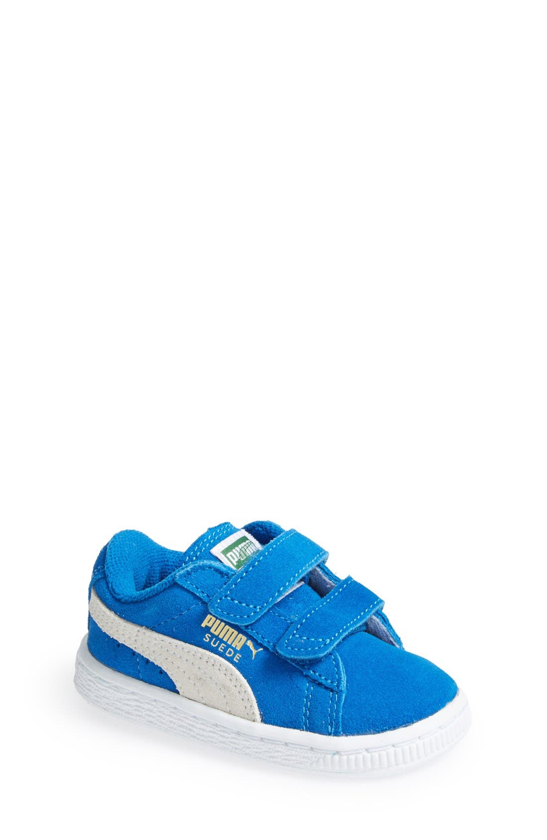 Suede Sneaker,                             Main thumbnail 6, color,