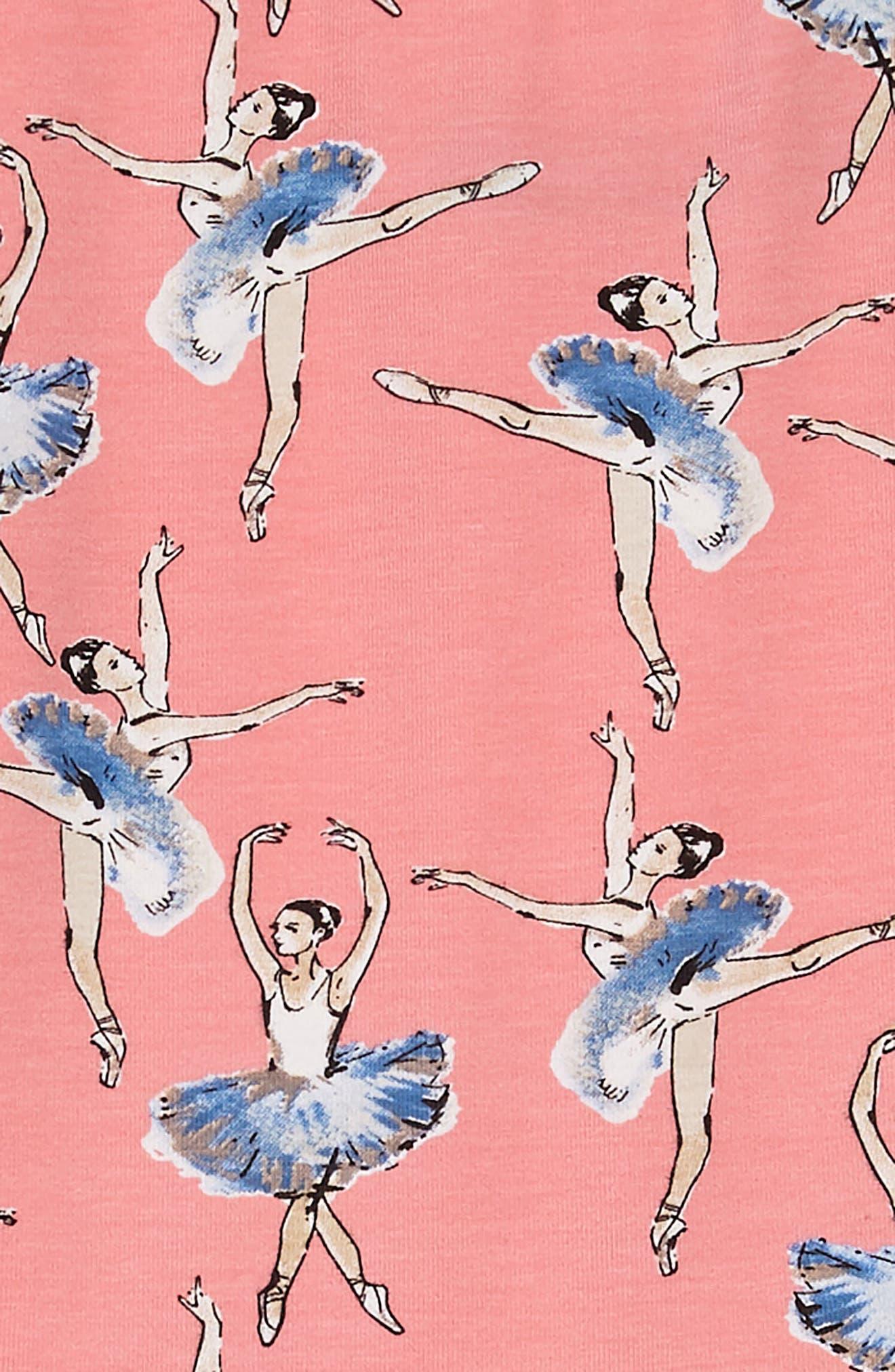 Ballerina Basque Dress,                             Alternate thumbnail 3, color,                             650