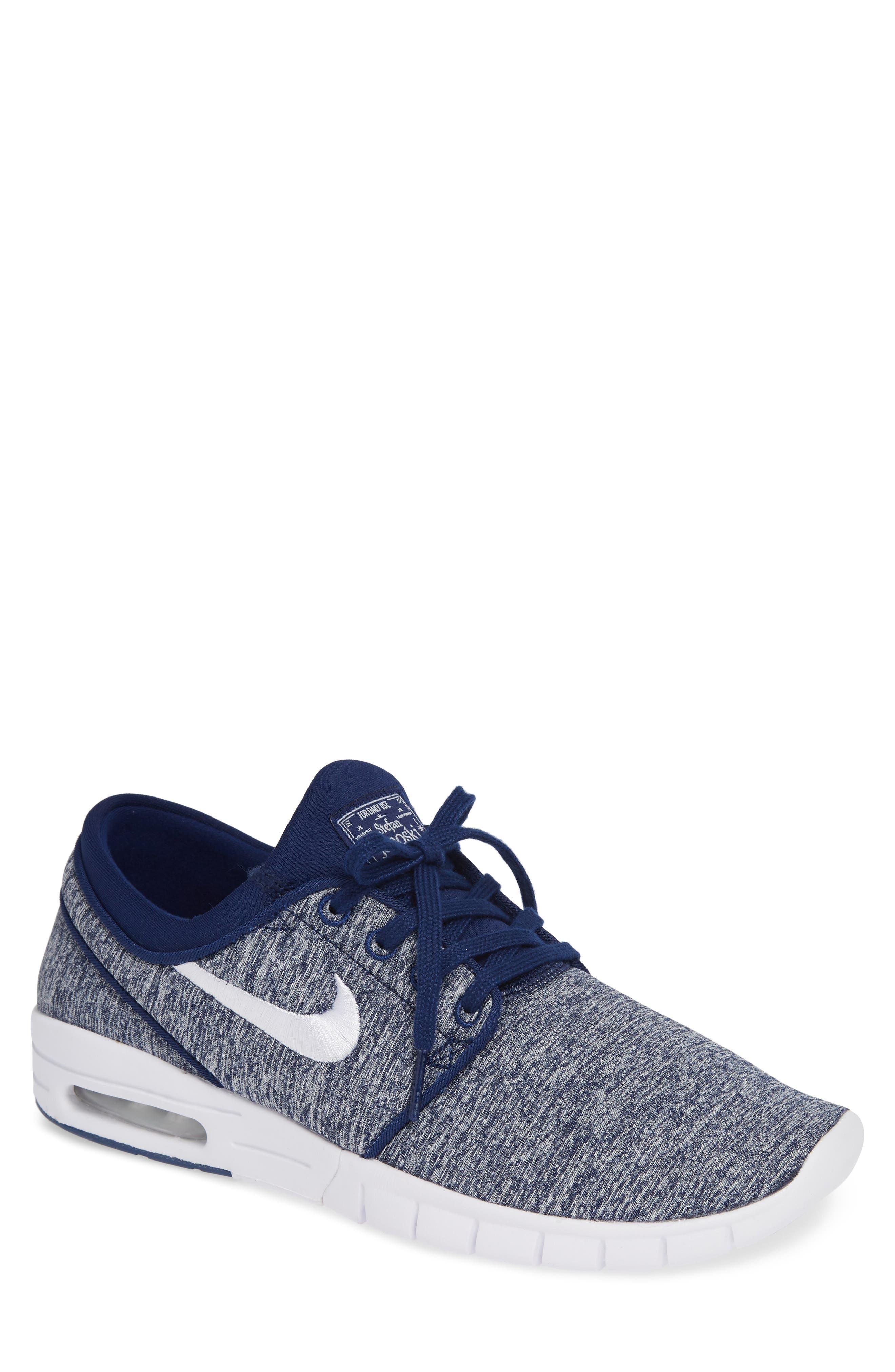new product 43eae b123b Nike  Stefan Janoski - Max Sb  Skate Shoe In Blue Void  White