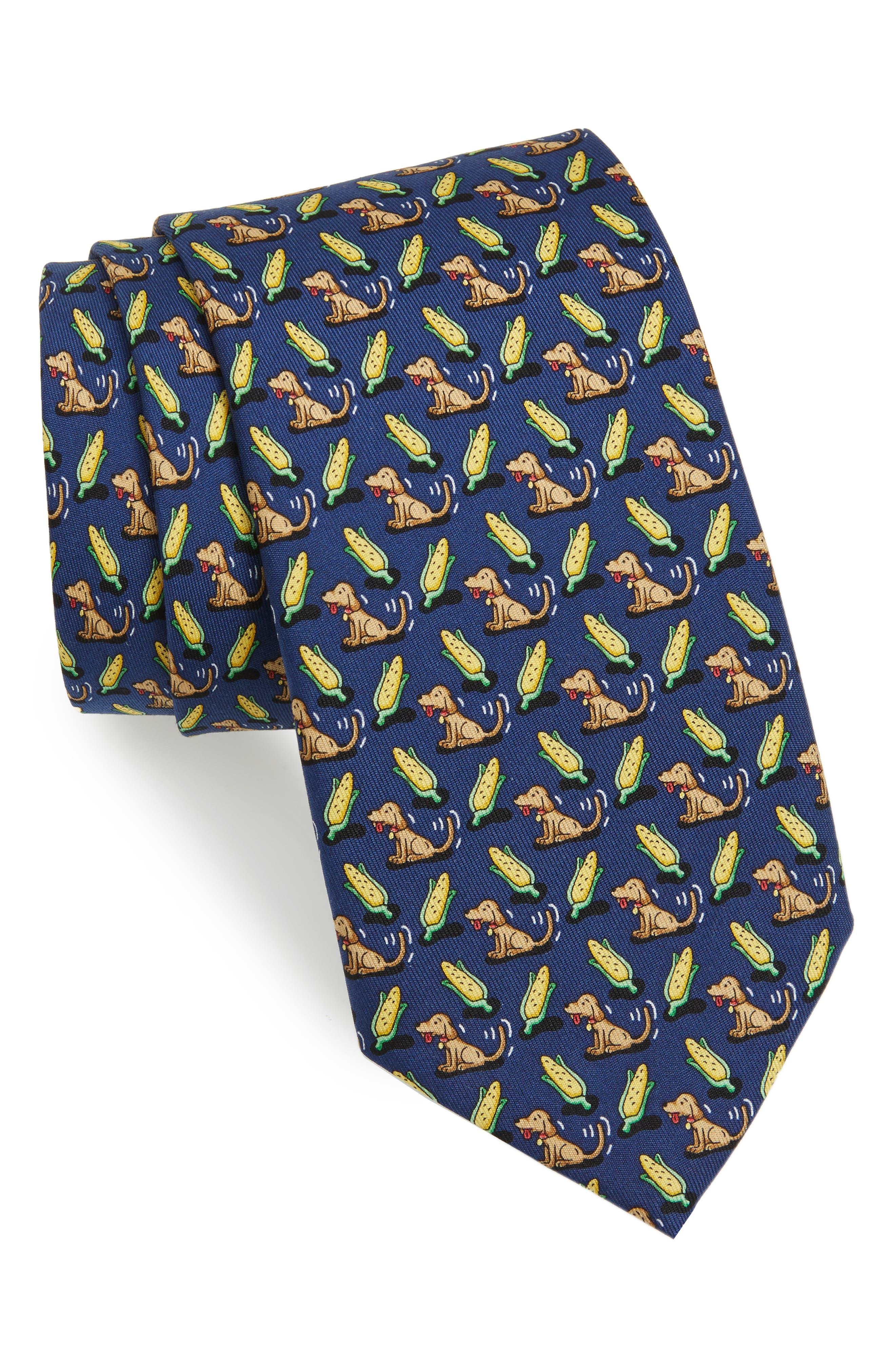 Corndog Silk Tie,                         Main,                         color,