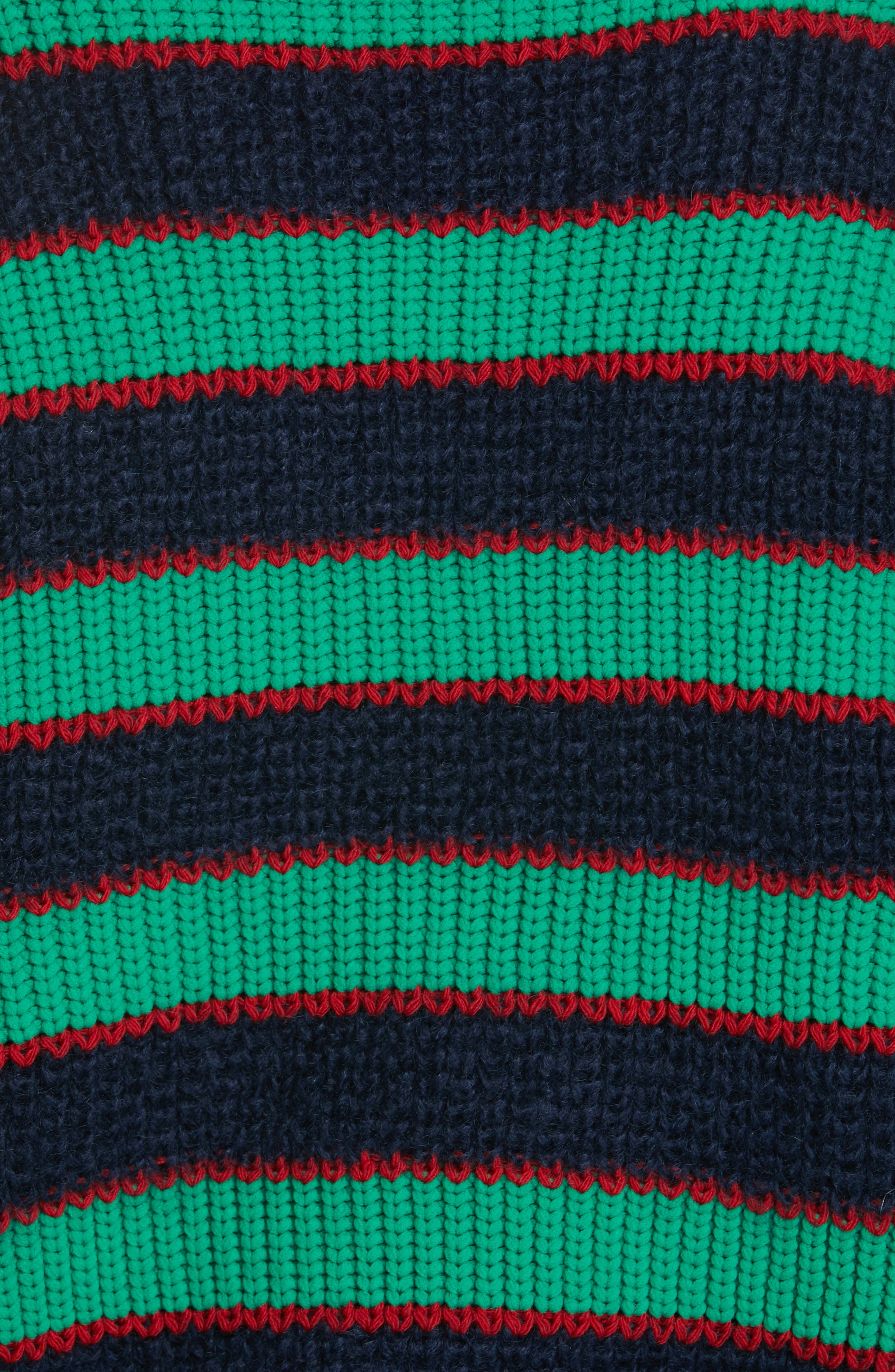 Colorblock Stripe Mohair & Wool Blend Sweater,                             Alternate thumbnail 5, color,                             MULTICOLOR