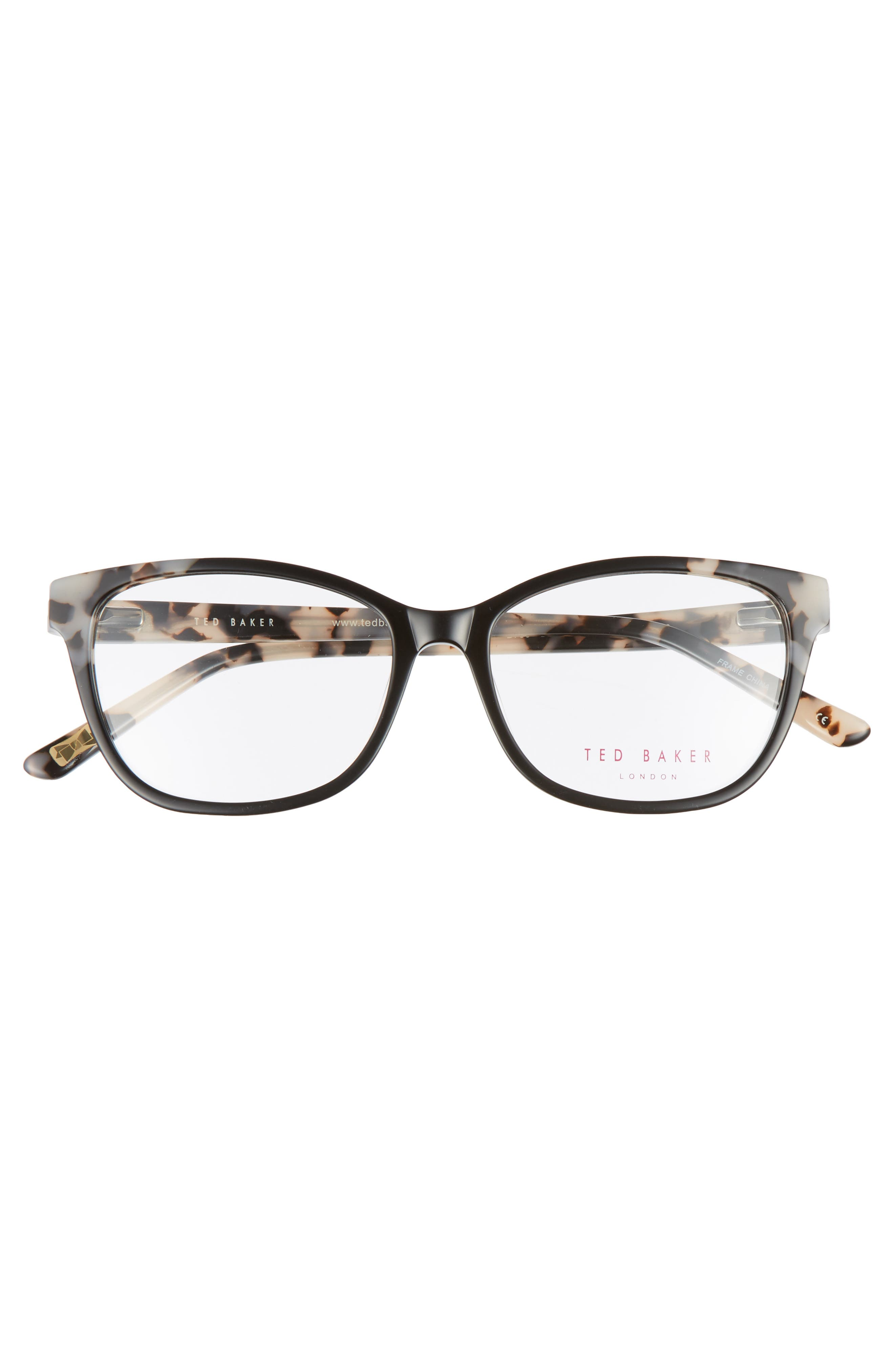 52mm Square Optical Glasses,                             Alternate thumbnail 3, color,