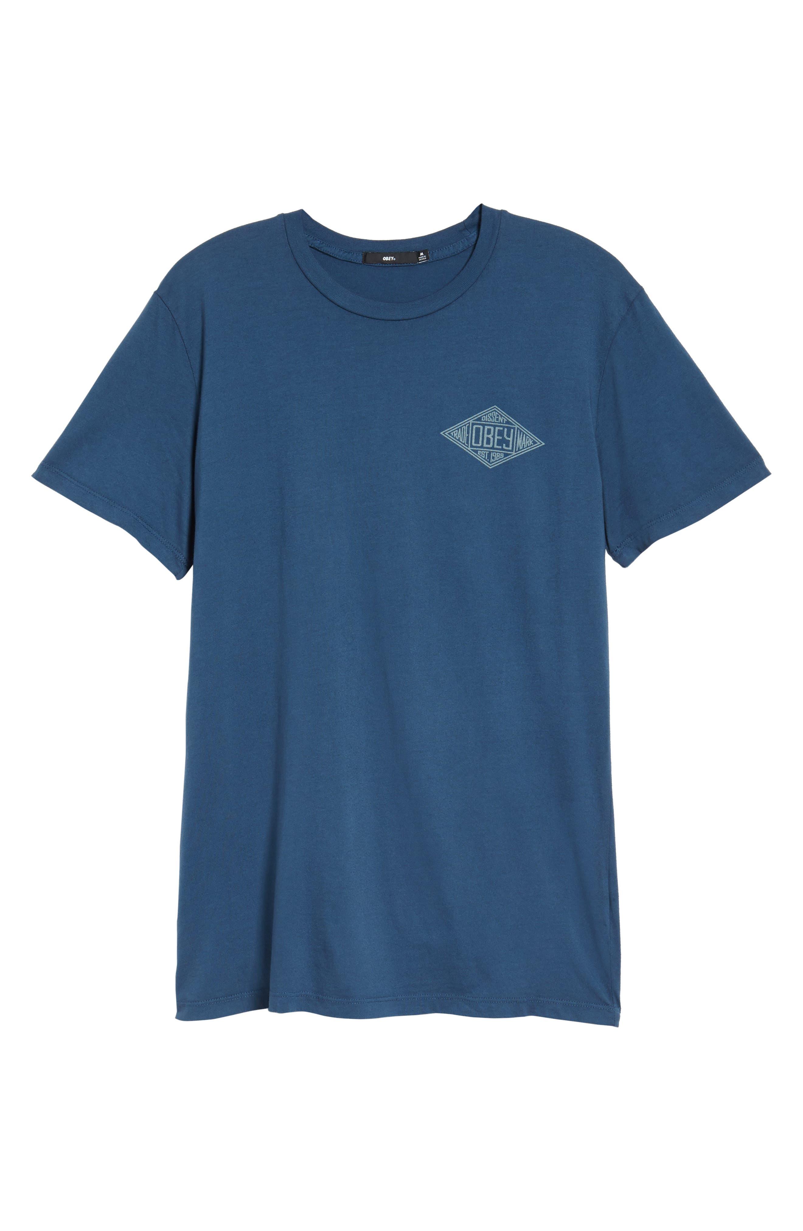 Trademark Diamond T-Shirt,                             Alternate thumbnail 6, color,                             424