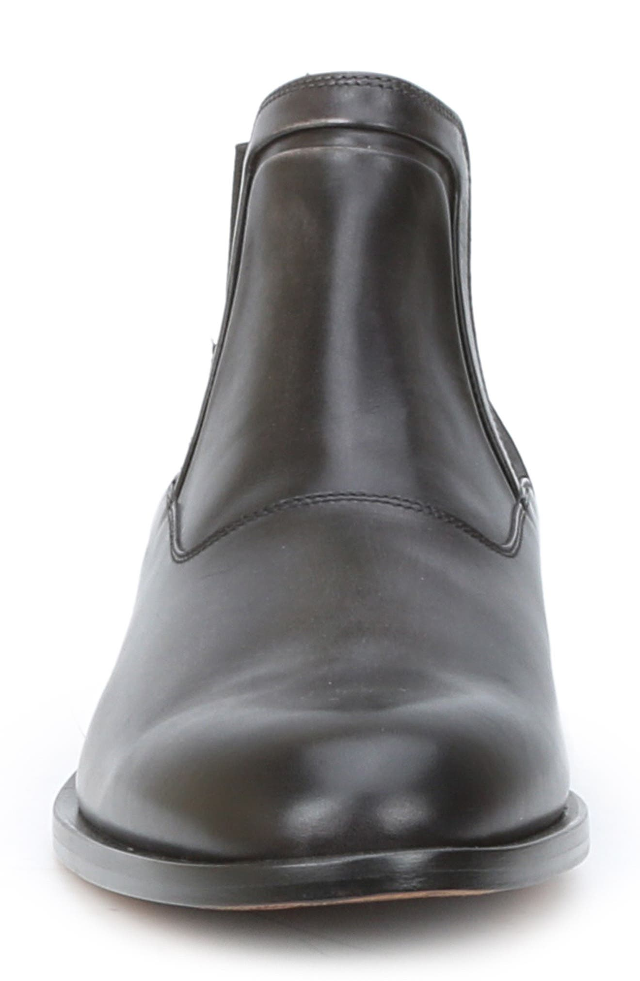 Sancho Chelsea Boot,                             Alternate thumbnail 4, color,                             DARK GREY