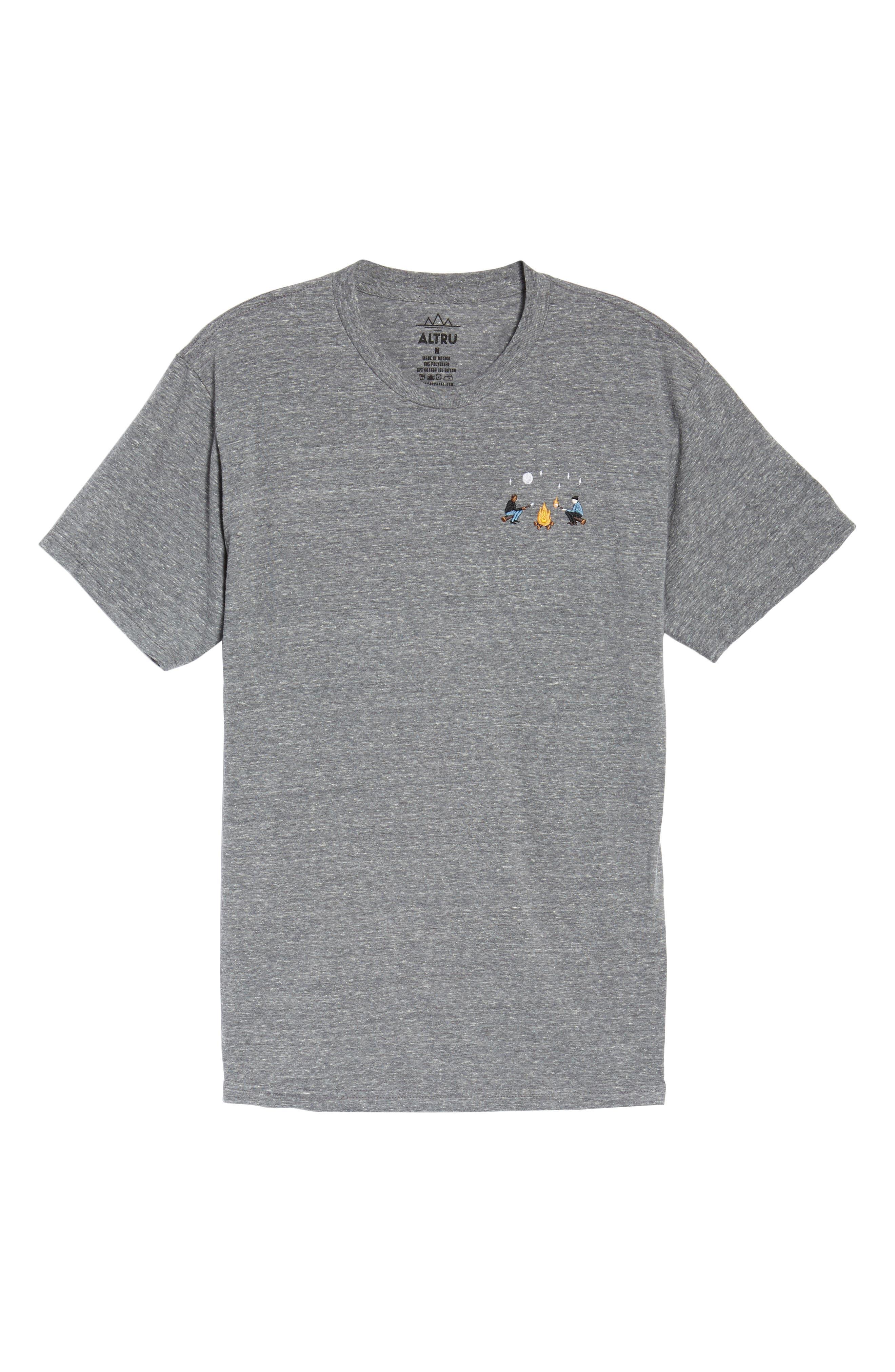 Burning Marshmallows T-Shirt,                             Alternate thumbnail 6, color,