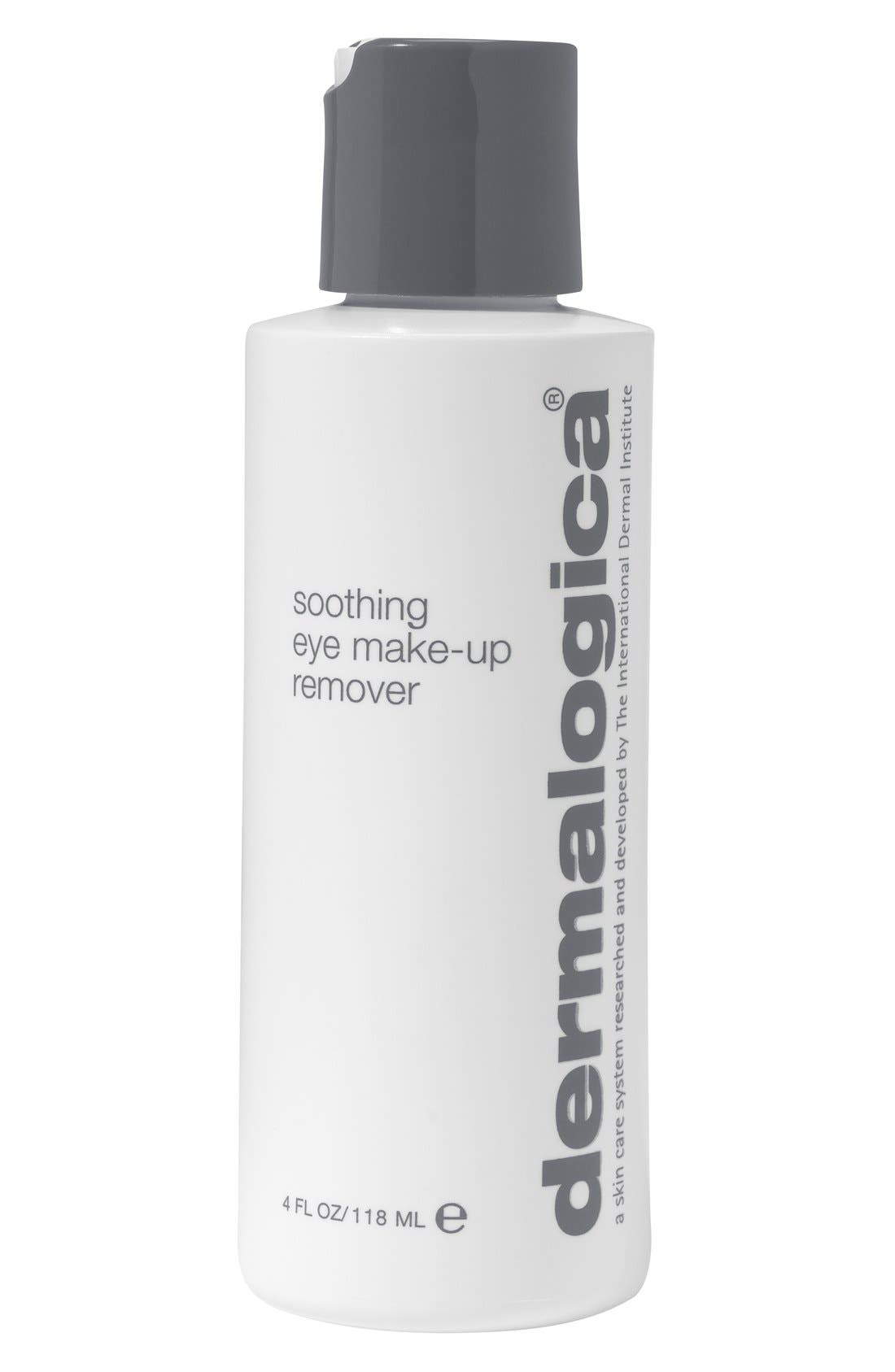 Soothing Eye Makeup Remover,                             Main thumbnail 1, color,                             000