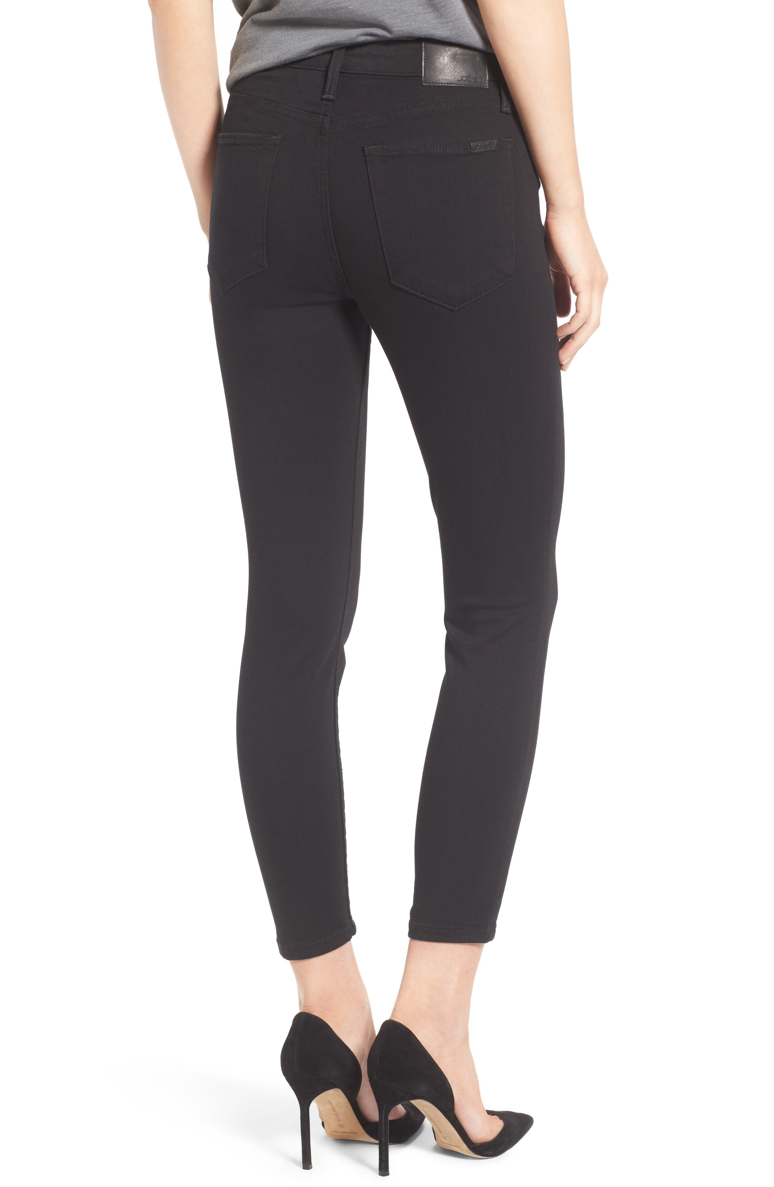 Charlie High Rise Crop Skinny Jeans,                             Alternate thumbnail 2, color,                             004