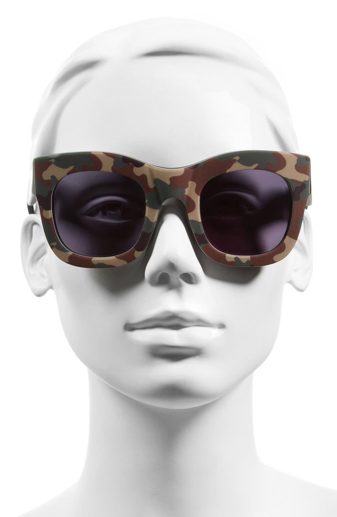 'Hamilton' 49mm Retro Sunglasses,                             Alternate thumbnail 19, color,